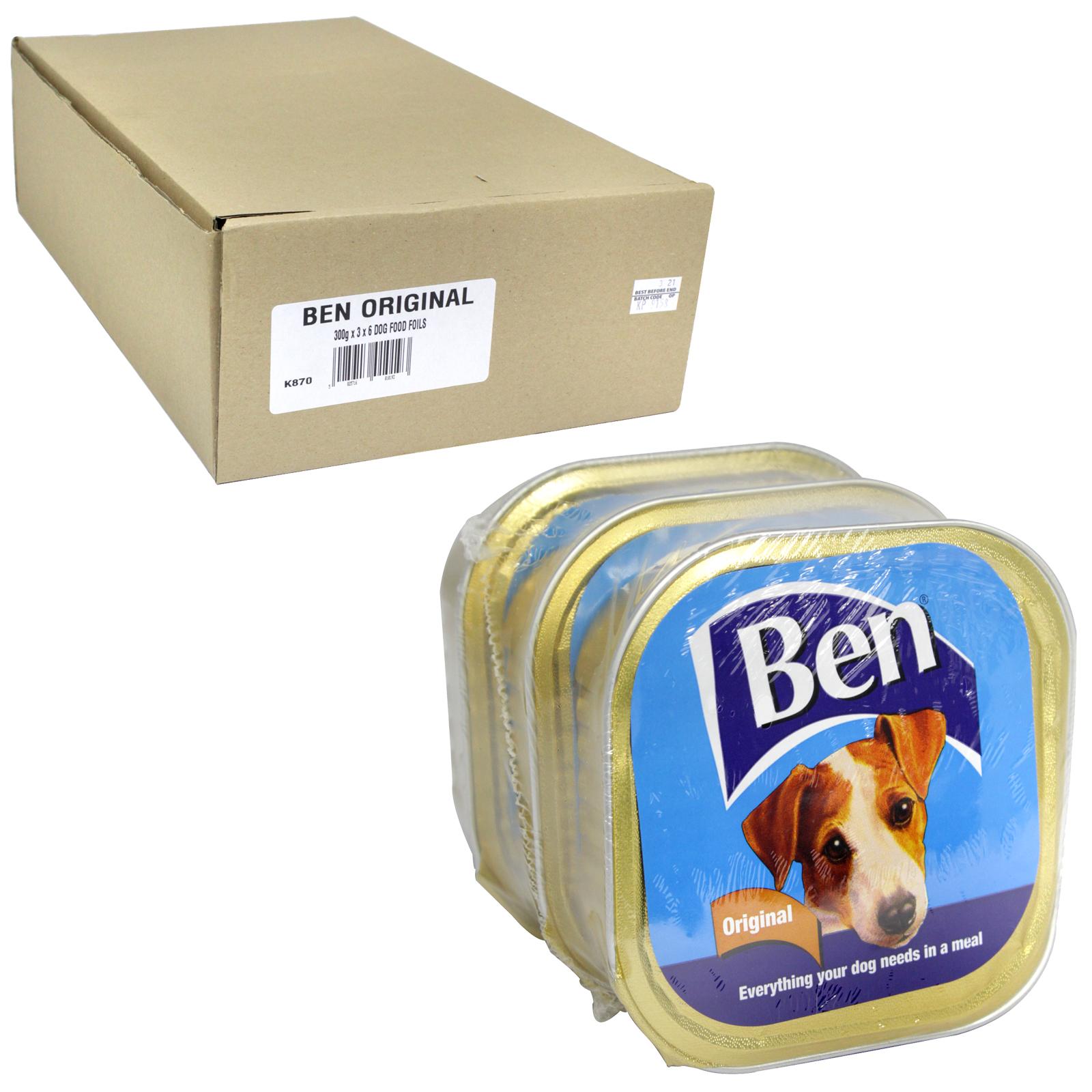 BEN DOG FOILS 3X300GM ORIGINAL X6