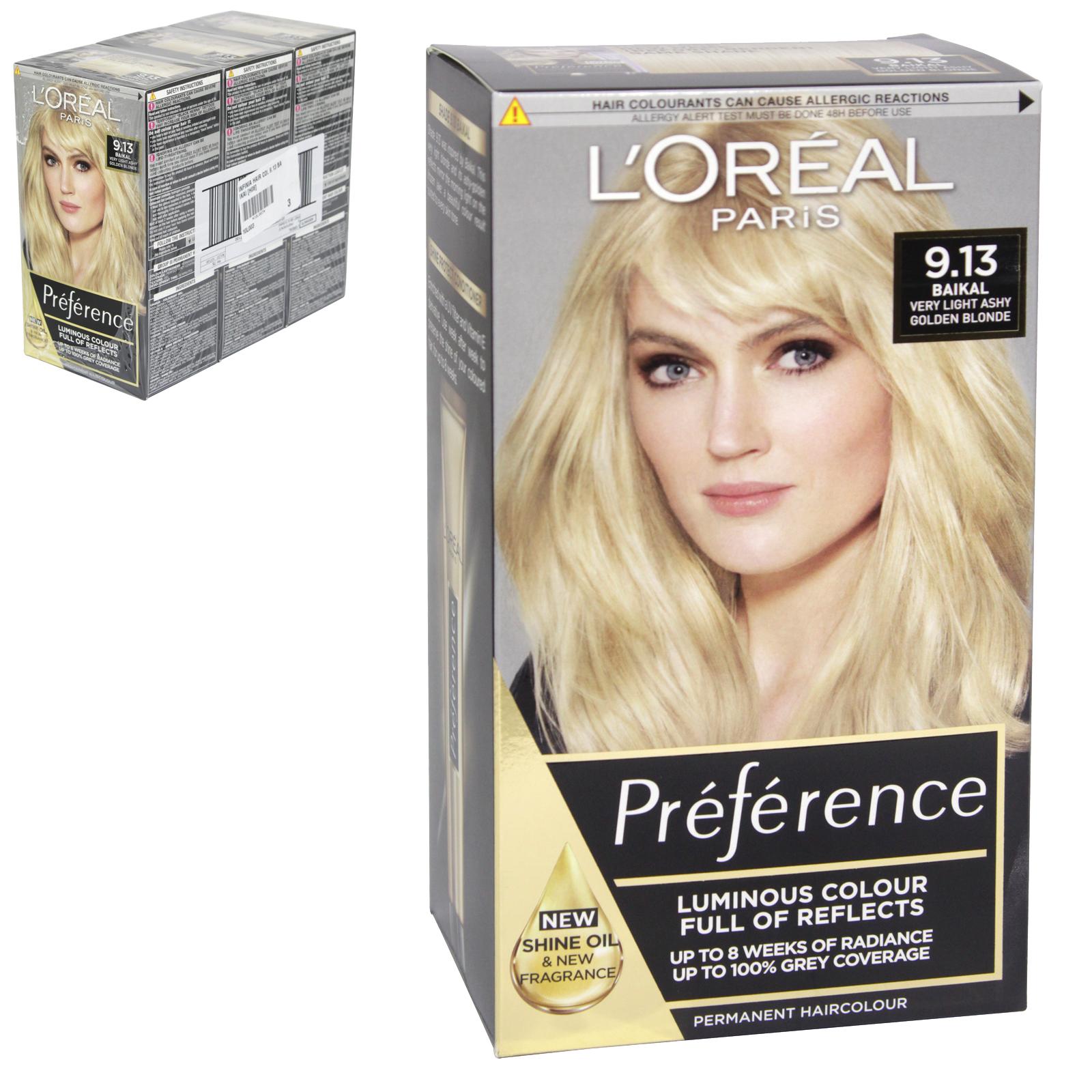 INFINIA PREFRENCE HAIR COLOUR 9.13 BERGEN X3