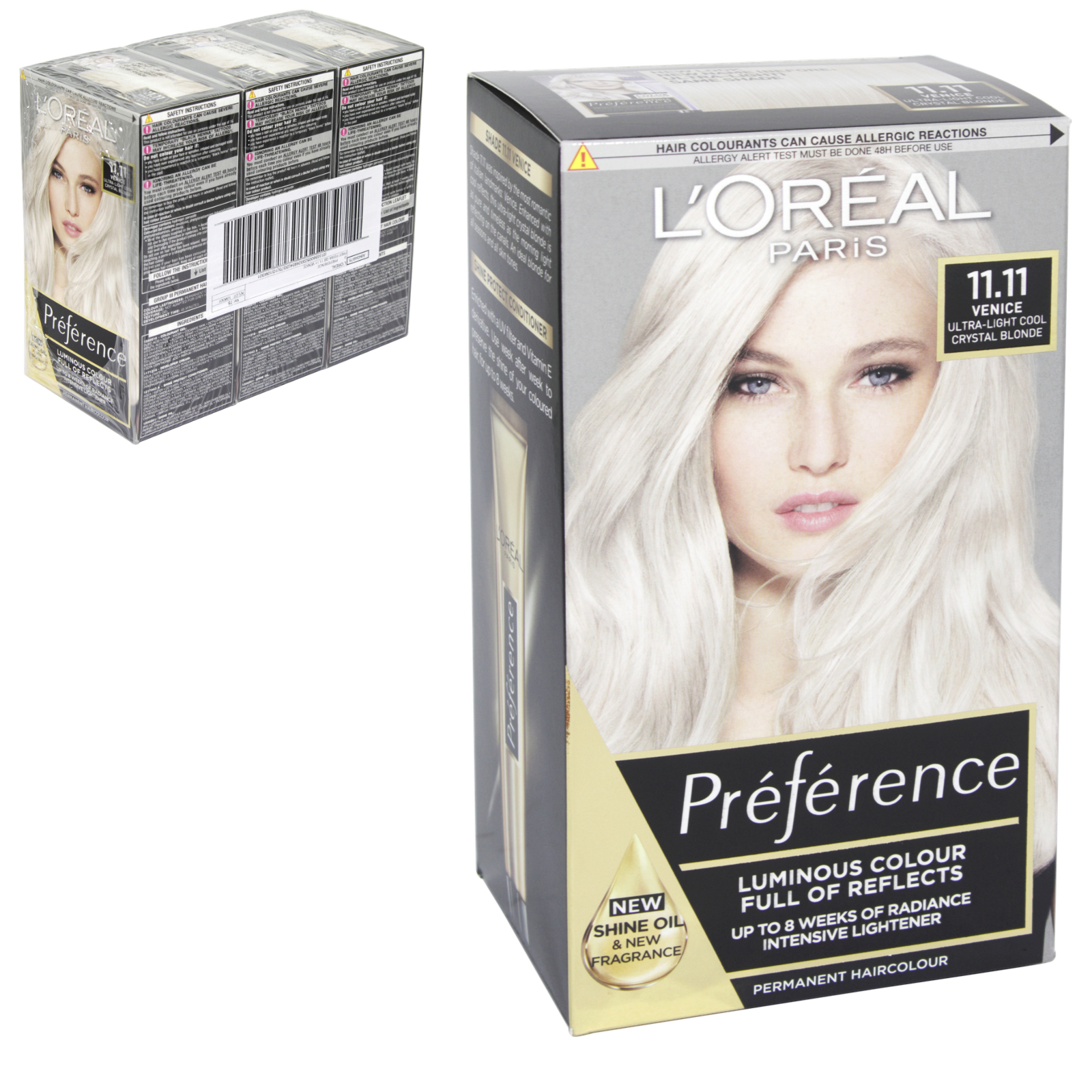 INFINIA PREFERENCE HAIR COLOUR 1.07 FLORENCE X3