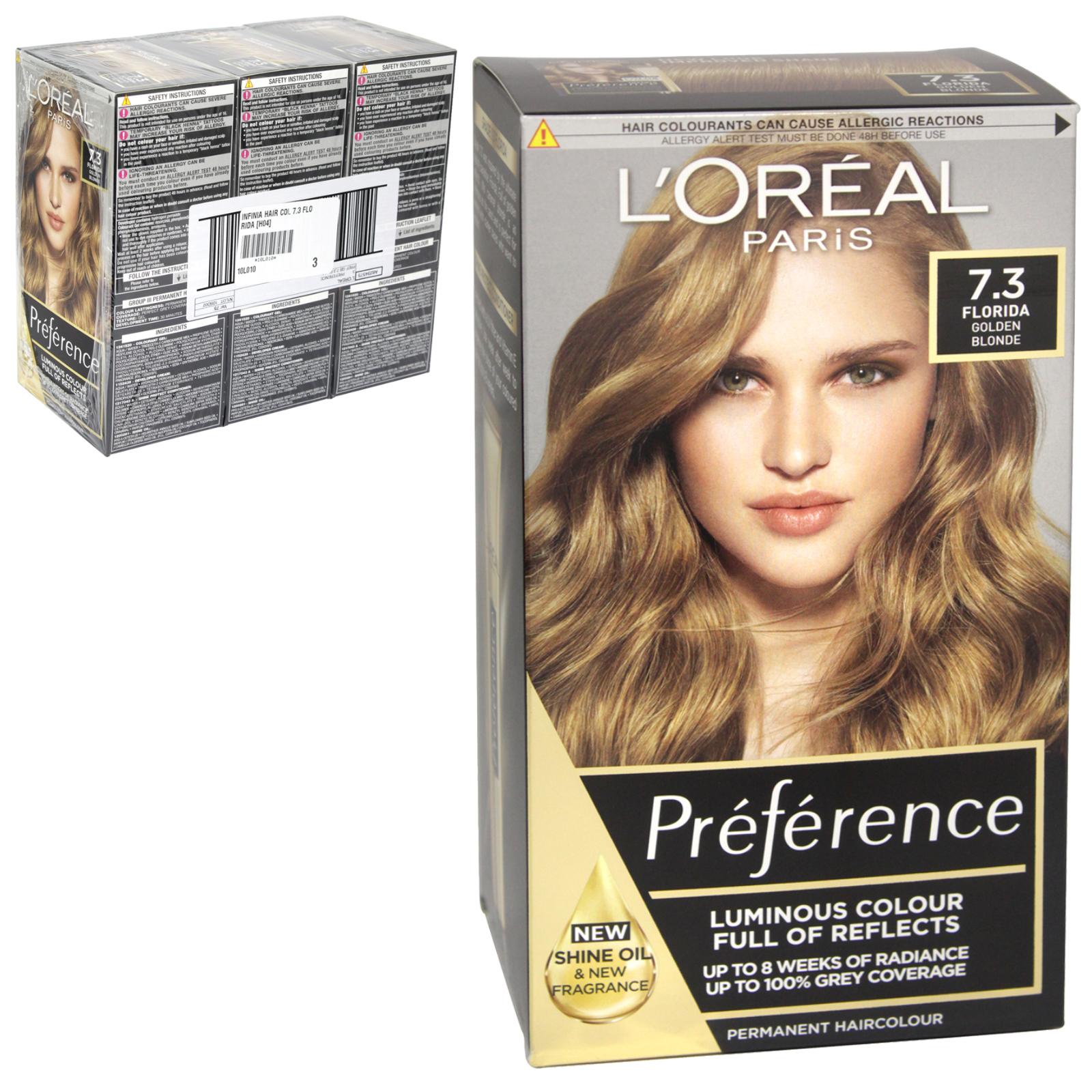 INFINIA PREFRENCE HAIR COLOUR 7.3 FLORIDA X3