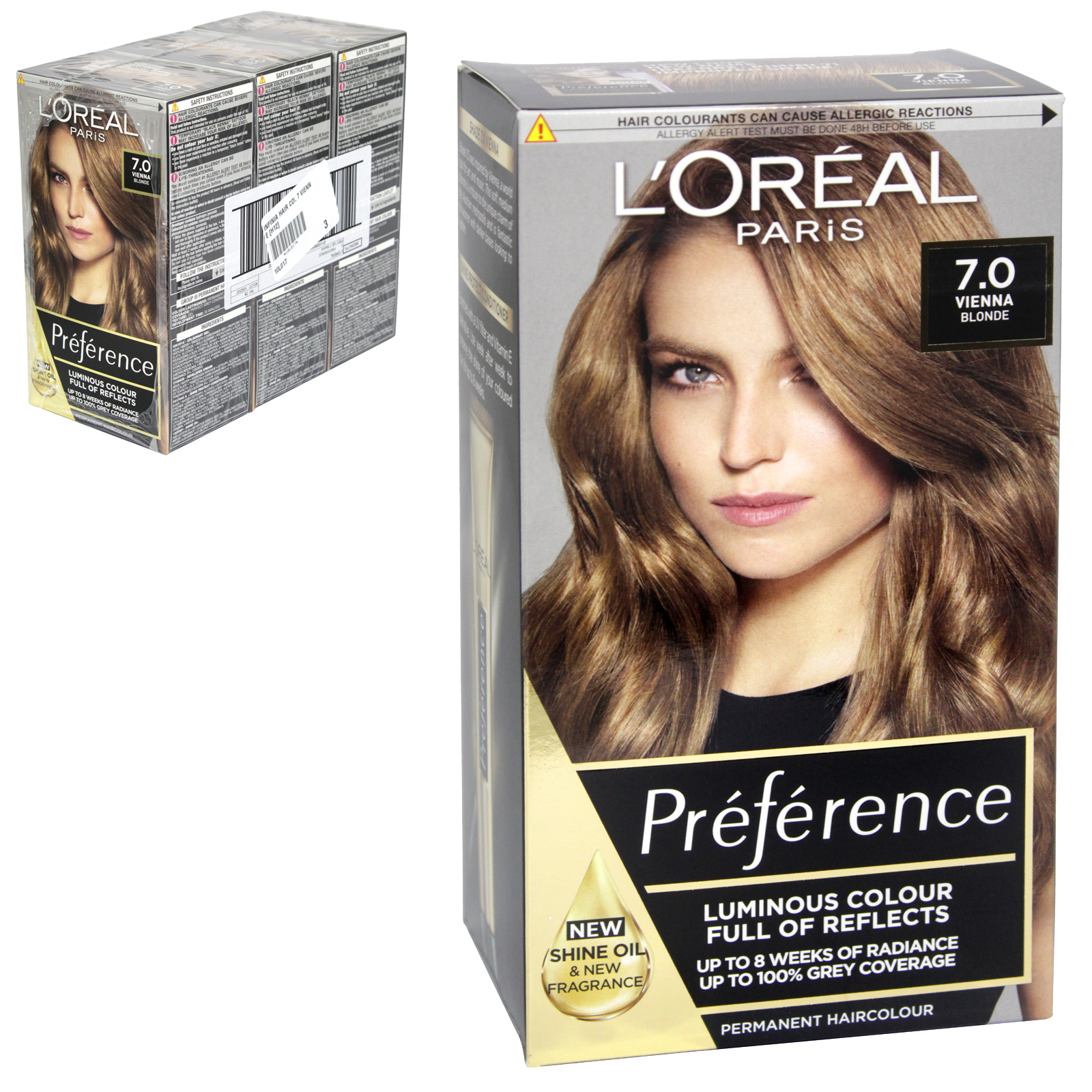 INFINIA PREFERENCE HAIR COLOUR 7 RIMINI X3