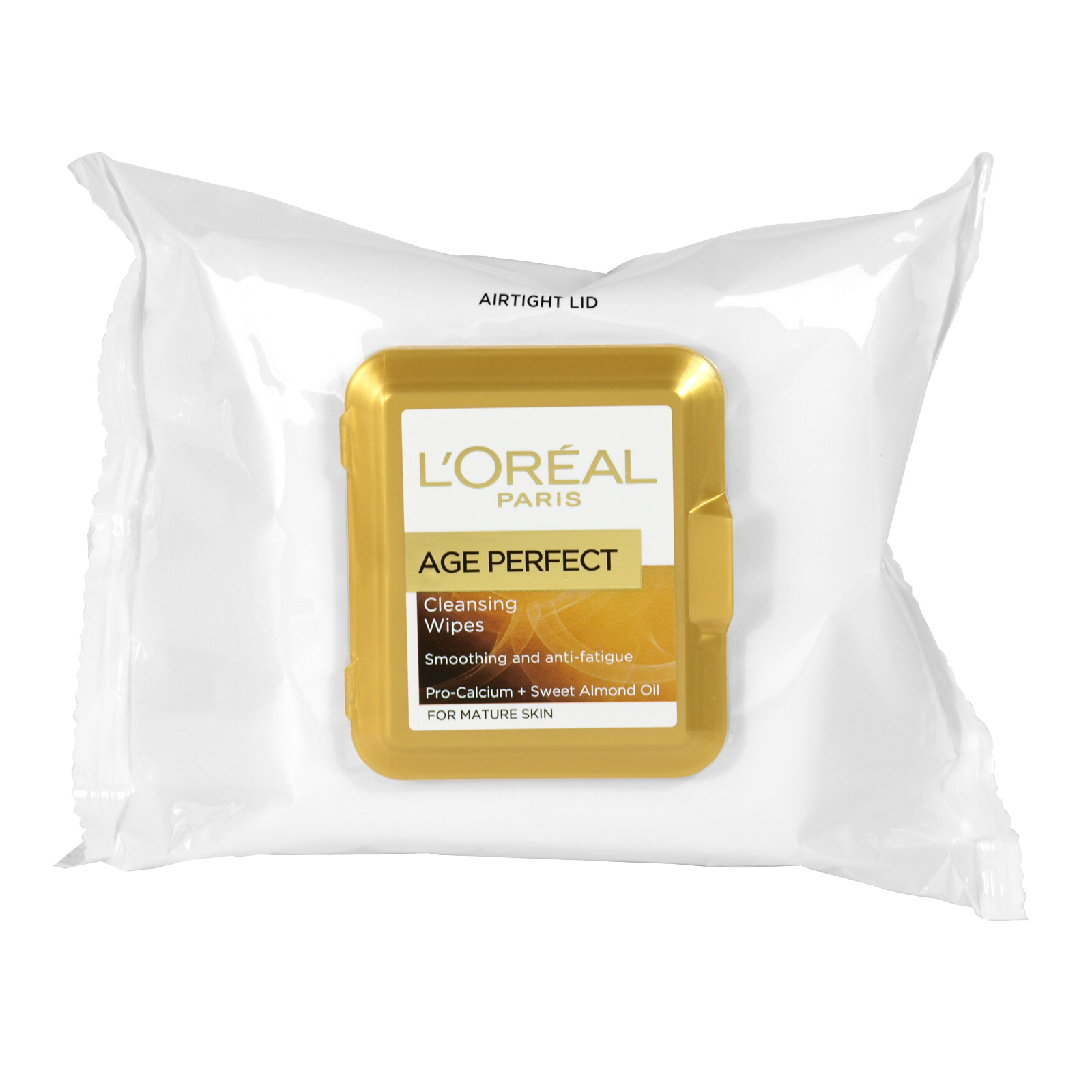 LOREAL AGE PERFECT 25 CLEANSING WIPES