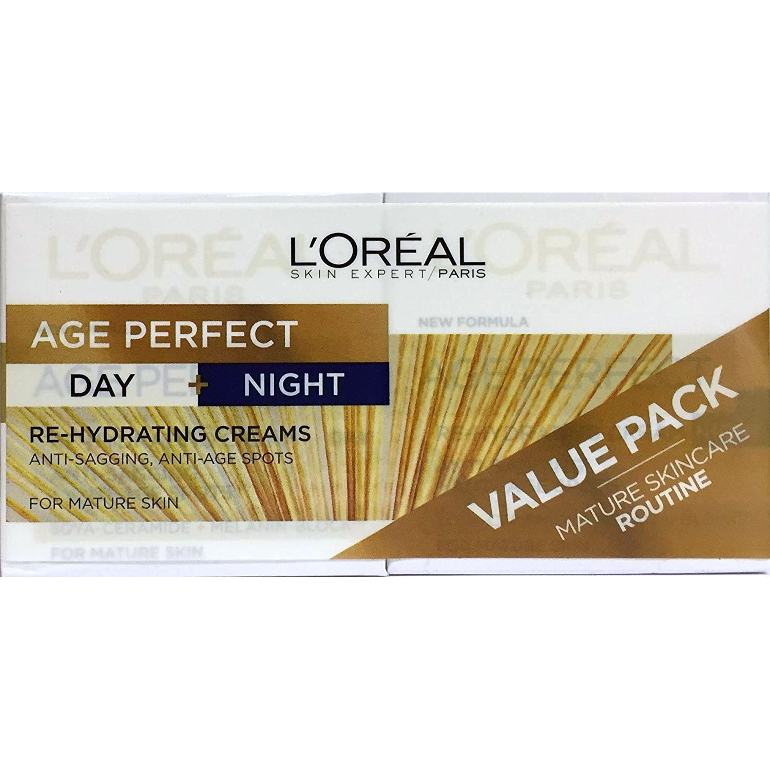 LOREAL AGE PERFECT DAY & NIGHT POTS 2X50ML