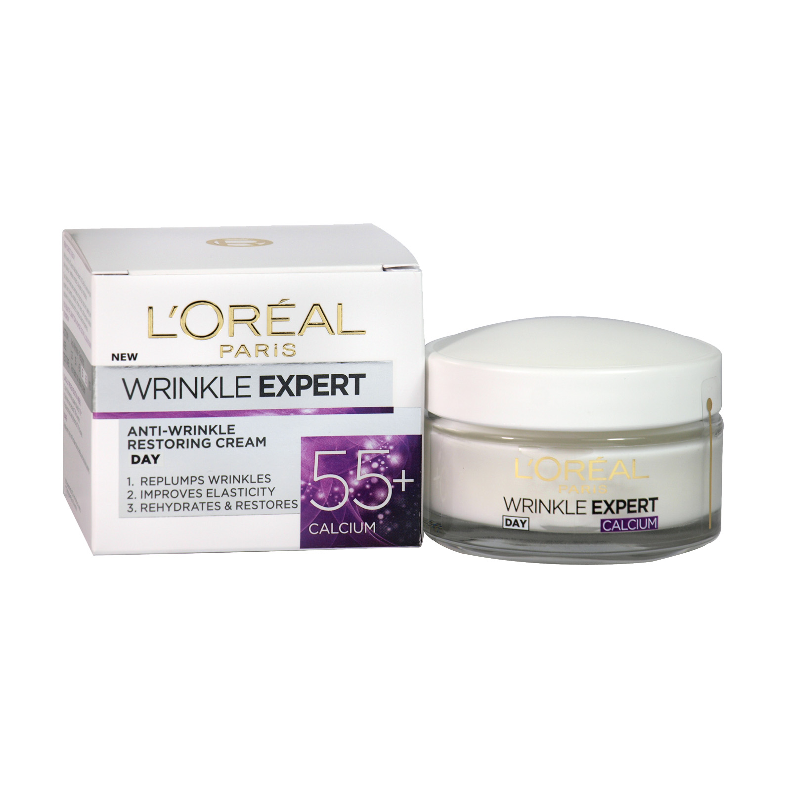 LOREAL WRINKLE EXPERT 55+ DAY 50ML X6