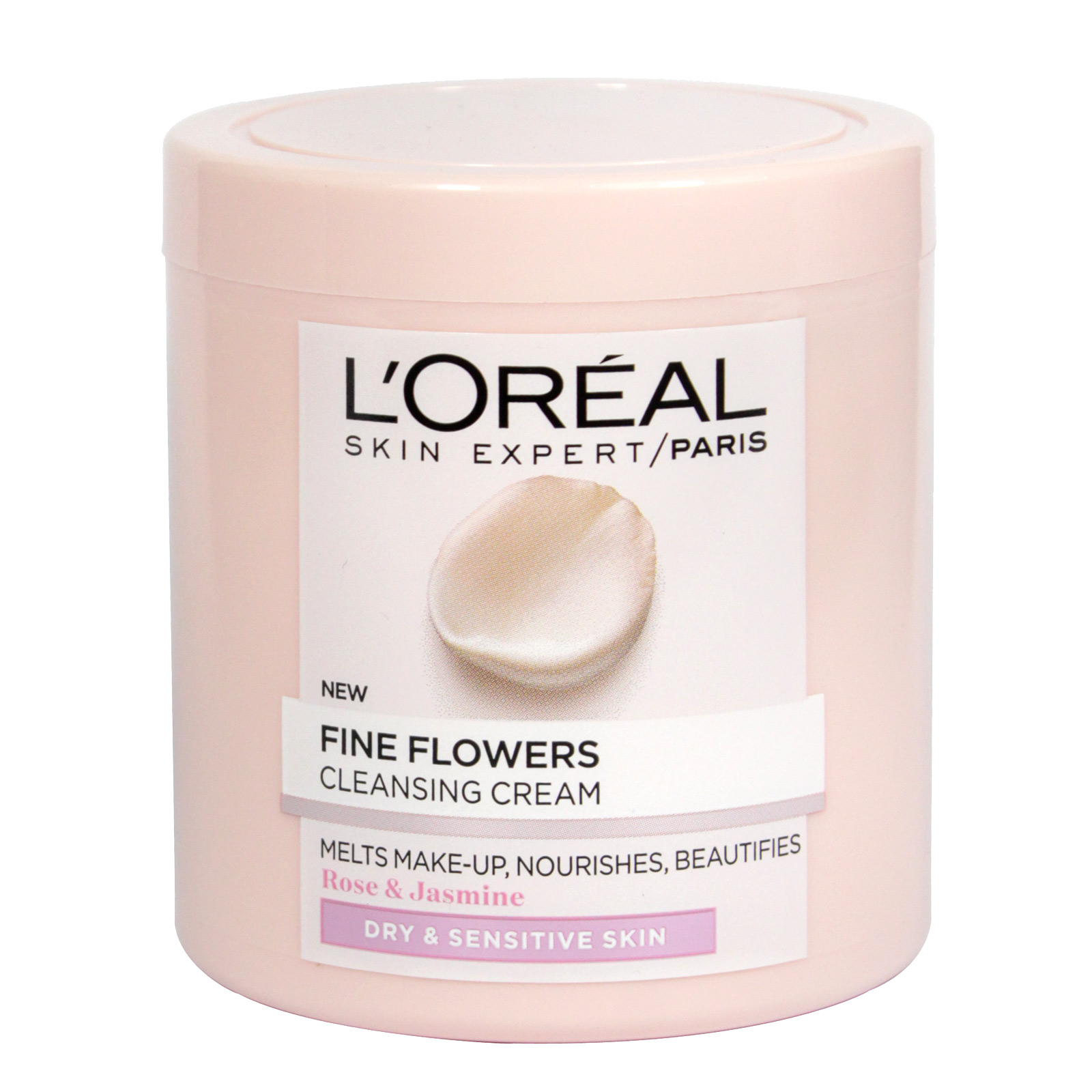 LOREAL FINE FLOWERS CLEANSING CREAM