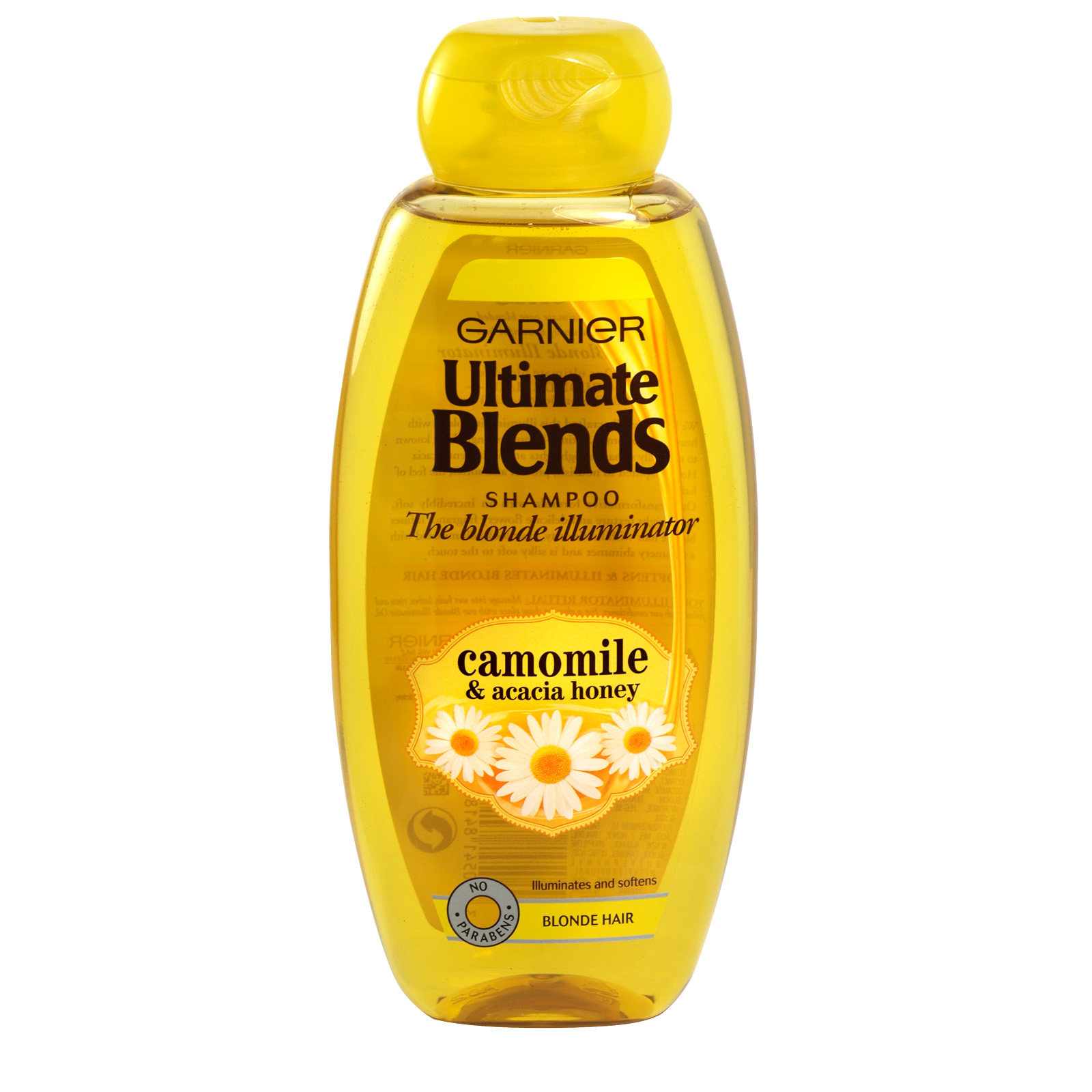 GARNIER ULTIMATE BLENDS 400ML S/POO CHAMOLMILE+HONEY BLONDE ILLUMINATOR X6