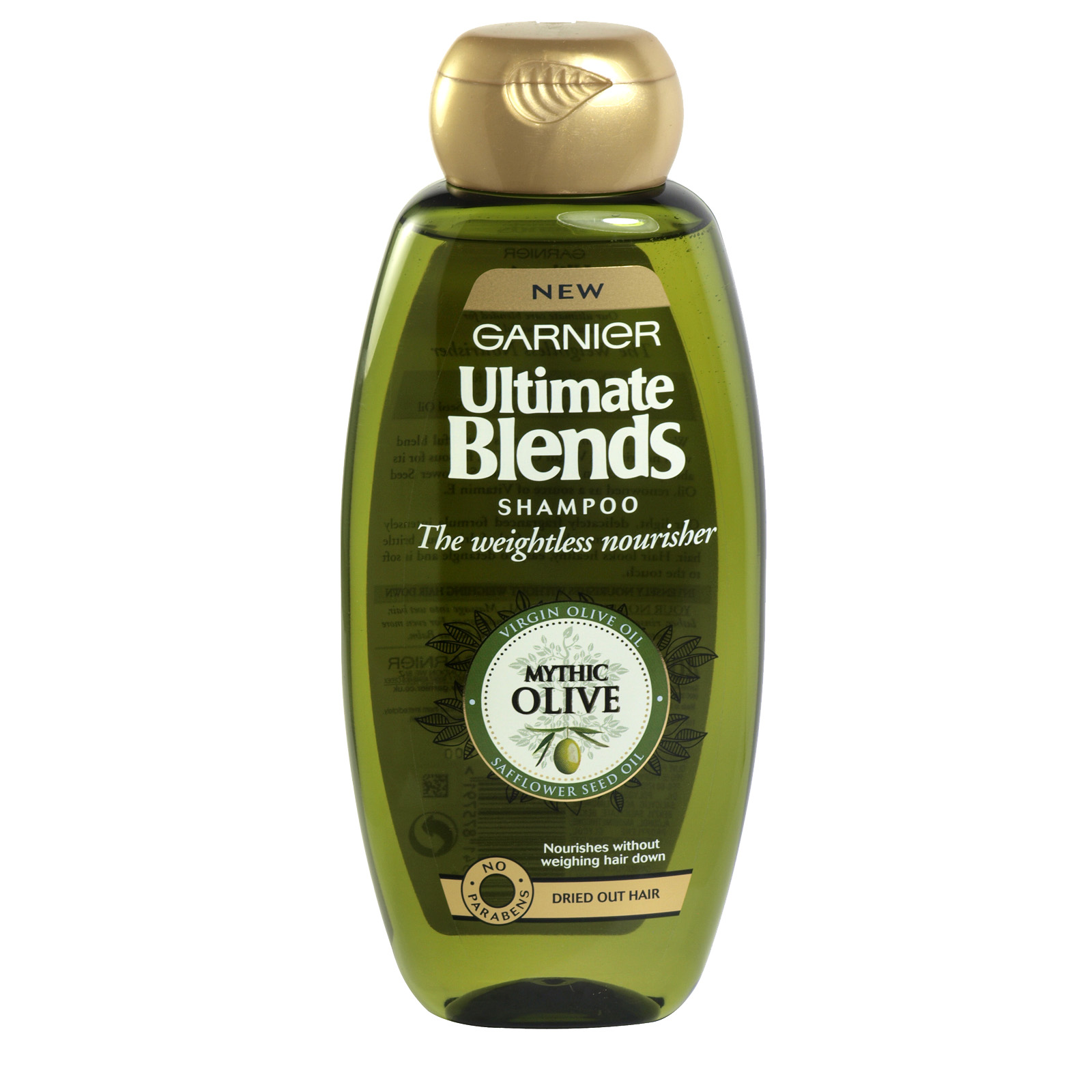 GARNIER ULTIMATE BLENDS 400ML S/POO MYTHIC OLIVE NOURISHING REPAIR X6