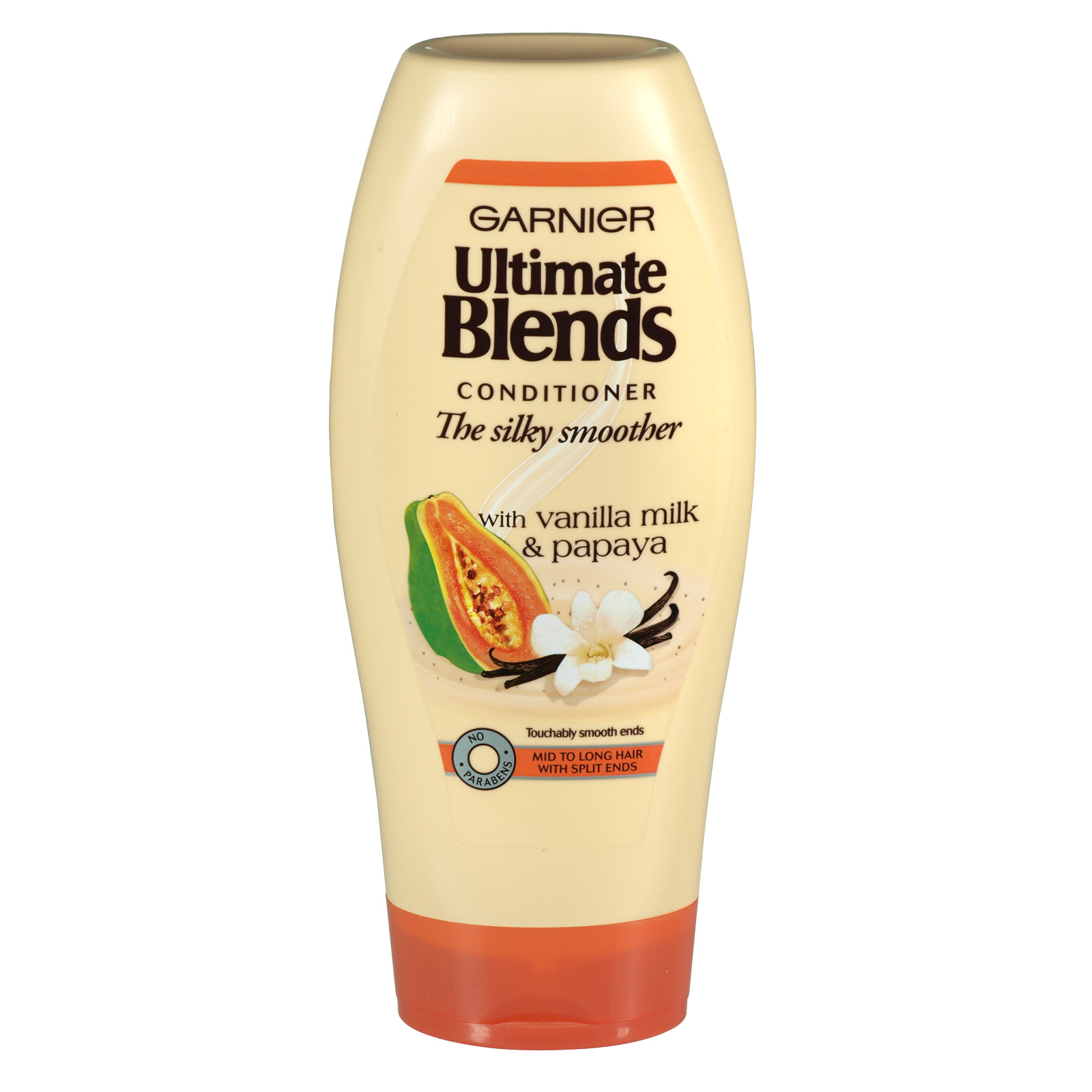 GARNIER ULTIMATE BLENDS 400ML COND VANILLA+ PAPAYA - SILKY SMOOTHER X6