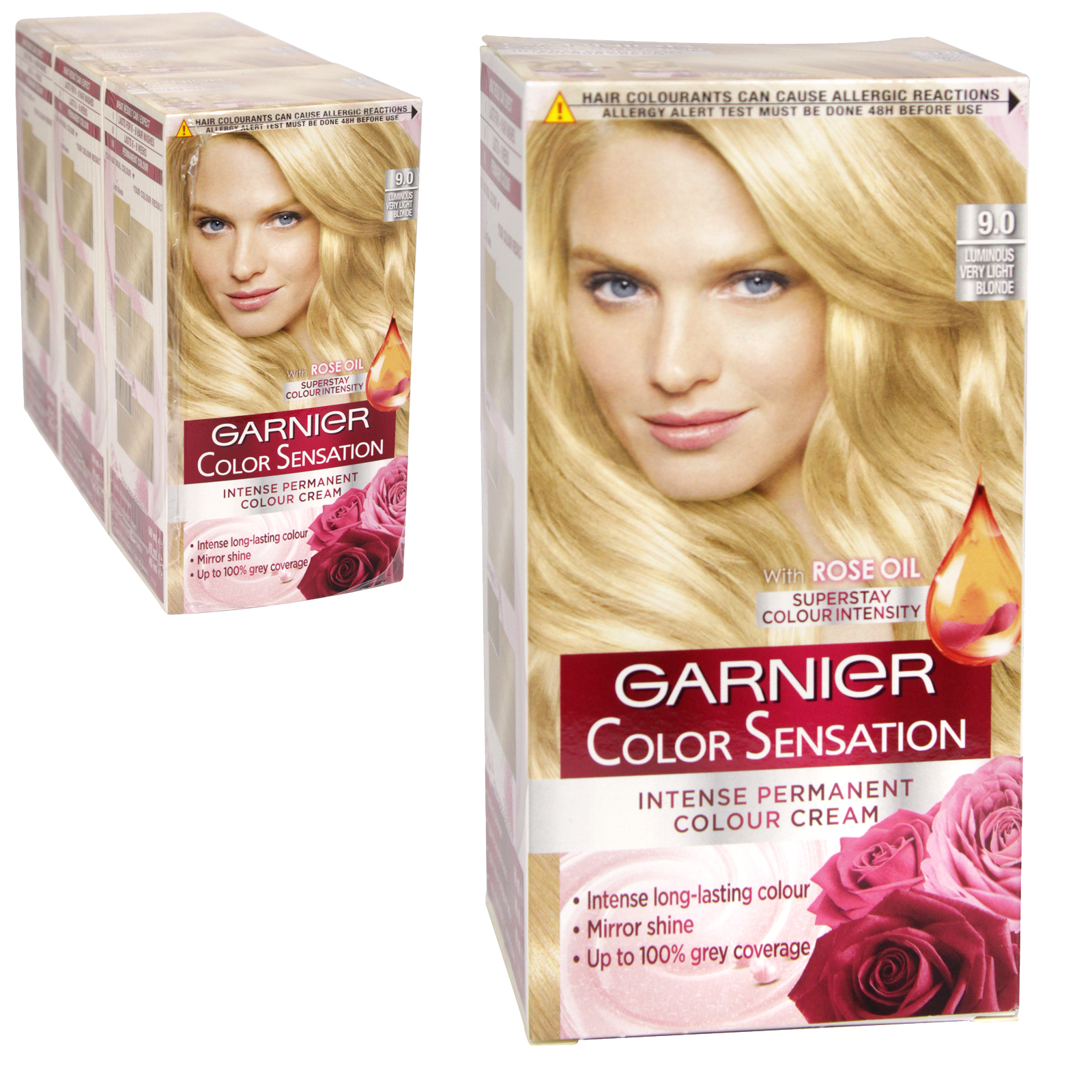 GARNIER HAIR COLOUR - LUMINUS VERY LIGHT BONDE 9 -X3