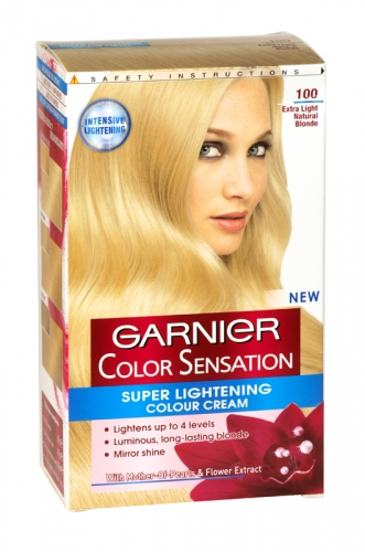 GARNIER HAIR COLOUR EXTRA LIIGHT NATURAL BLONDE 100 - X3