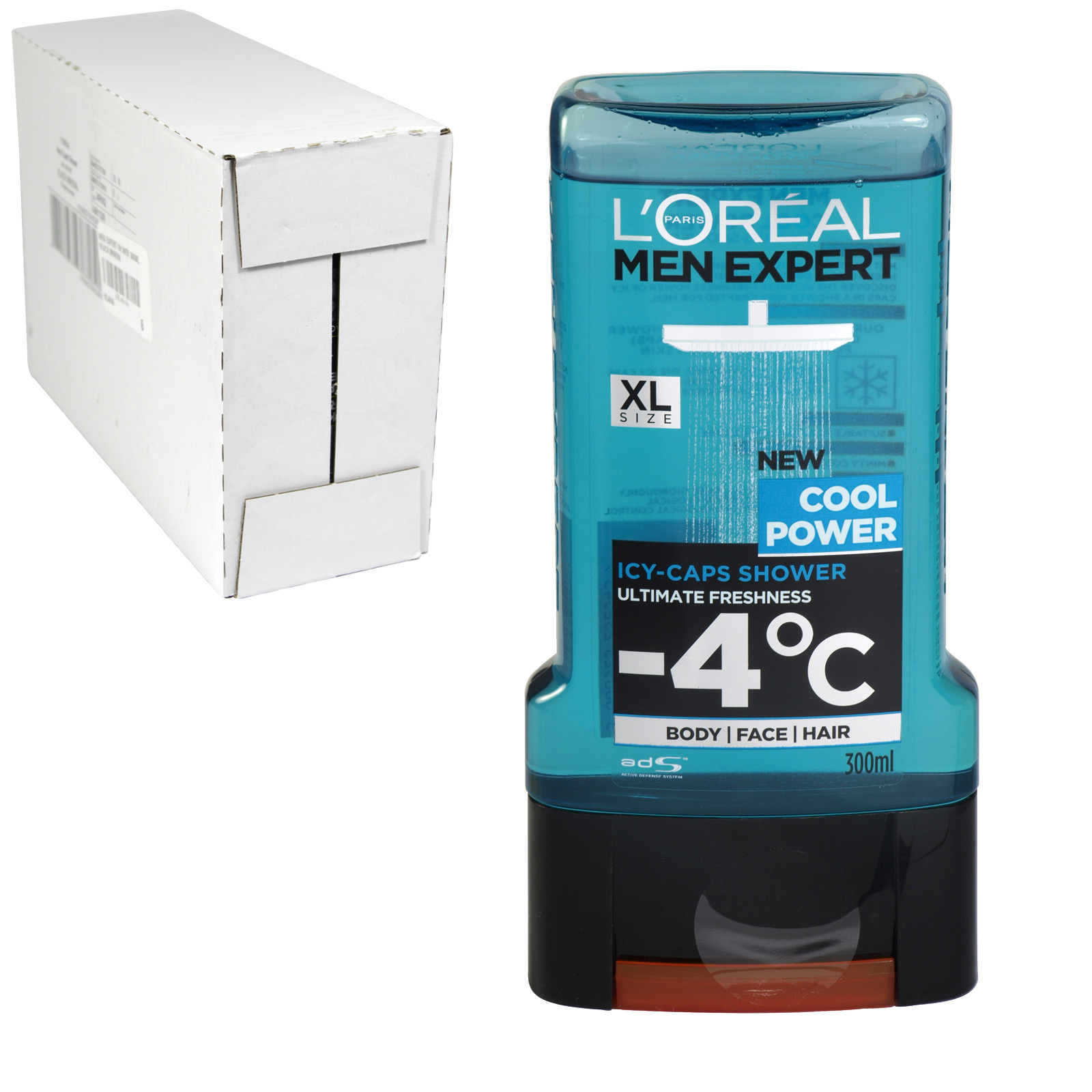 LOREAL MEN EXPERT SHOWER 300ML COOL POWER X6