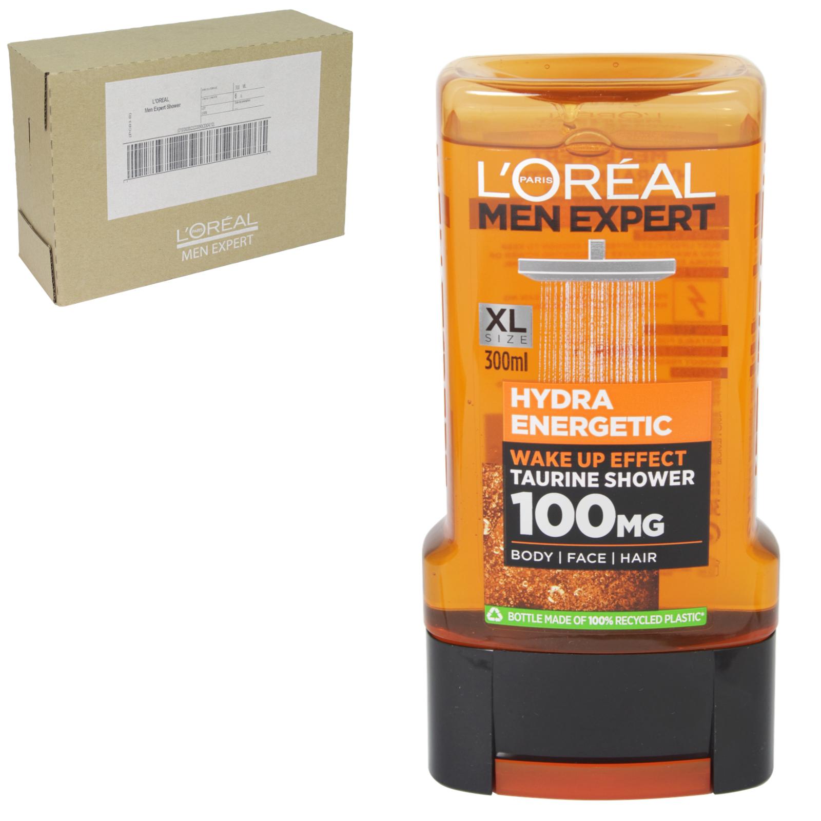 LOREAL MEN EXPERT SHOWER 300ML HYDRA ENERG X6