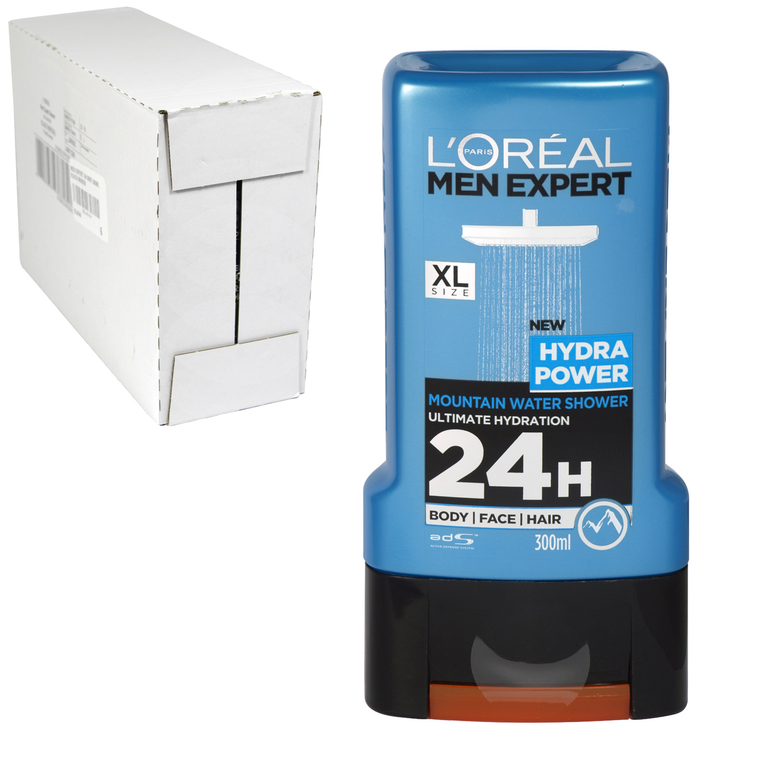 LOREAL MEN EXPERT SHOWER 300ML HYDRA POWER X6