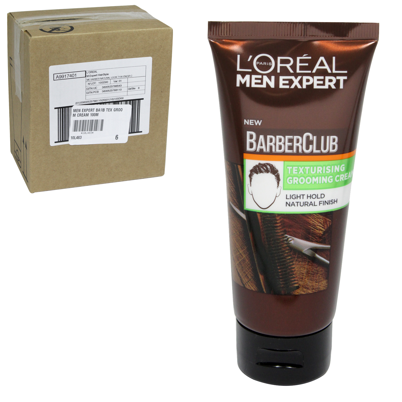 MEN EXPERT BARBERCLUB TEXURISING GROOMING CREAM 100M X 6
