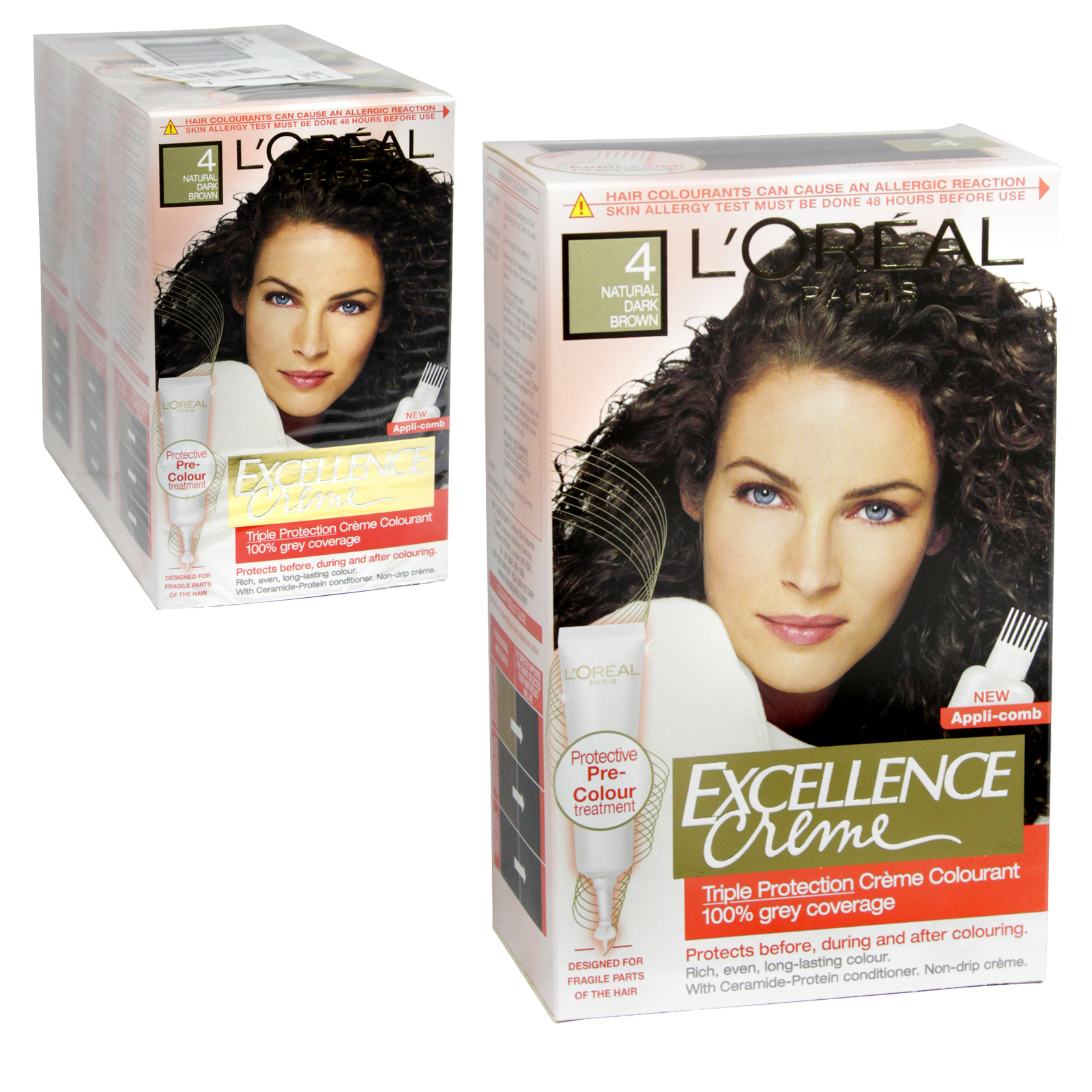 EXCELLENCE HAIR COLOUR DARK BROWN 4