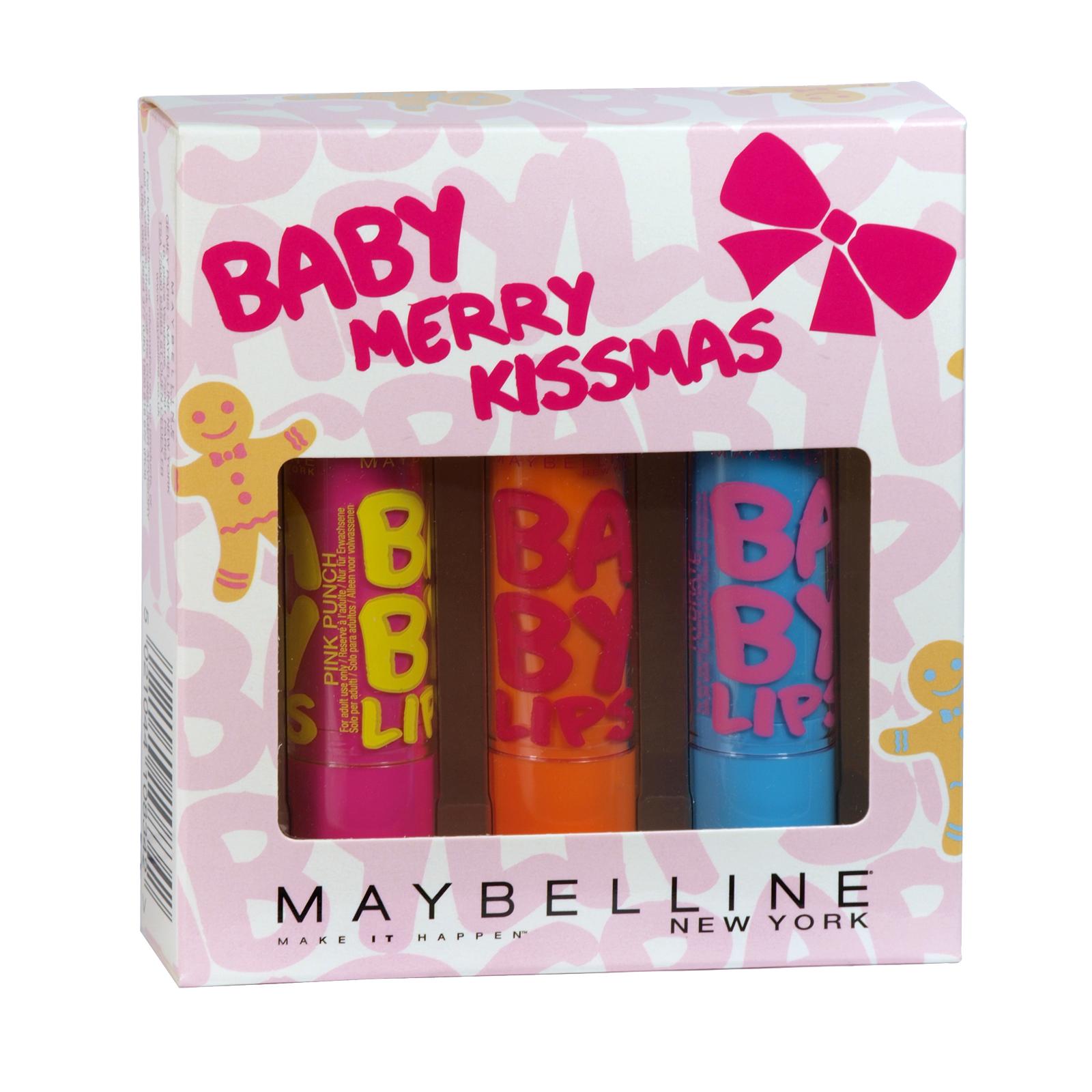 MAYBELLINE BABY MERRY KISSMAS