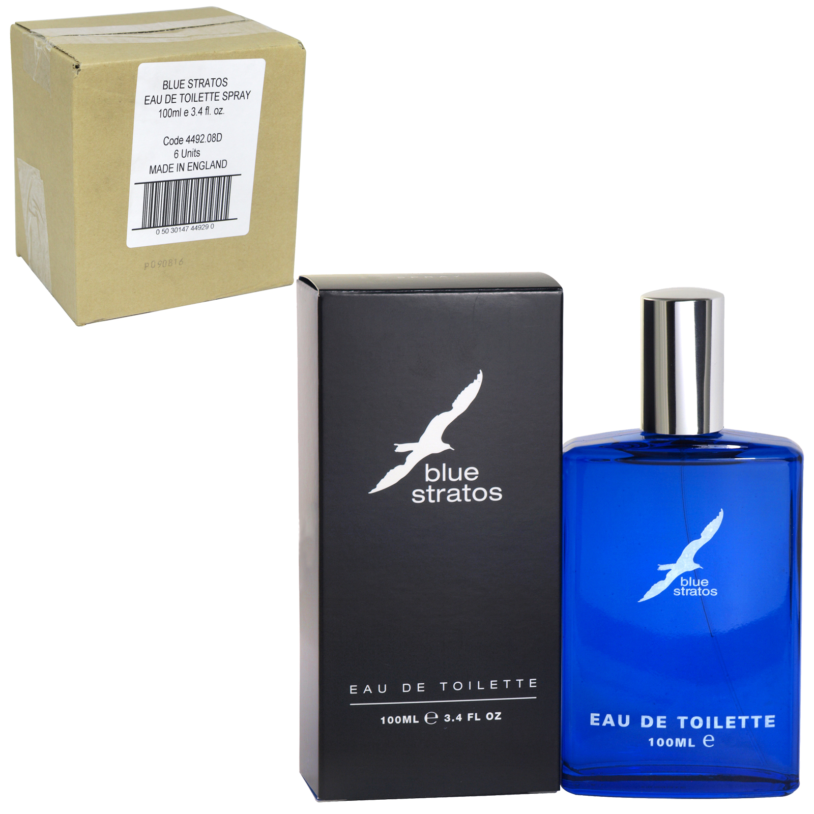 BLUE STRATOS EDT SPRAY 100ML X6