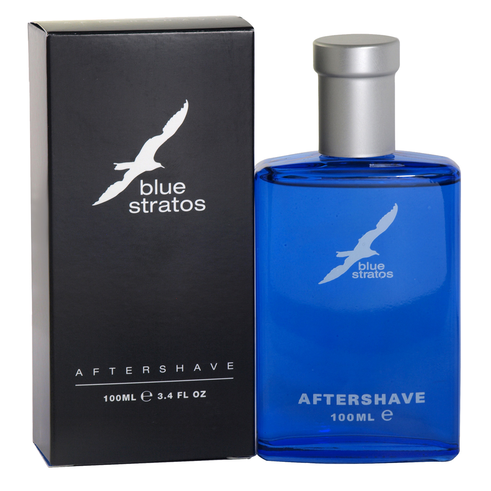 BLUE STRATOS AFTERSHAVE 100ML X6