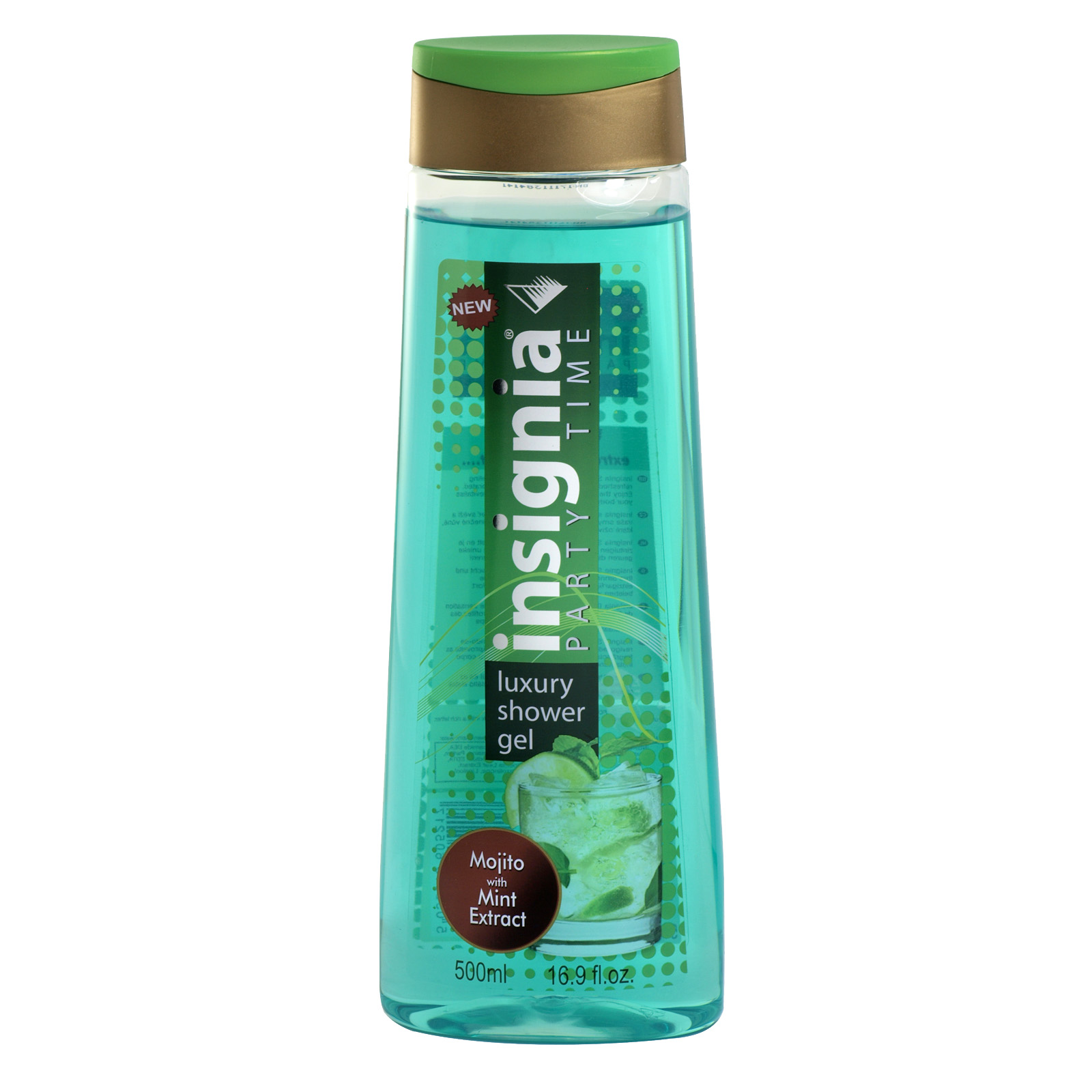 INSIGNIA SHOWER 500ML MOJITO WITH MINT EXTRACT X12
