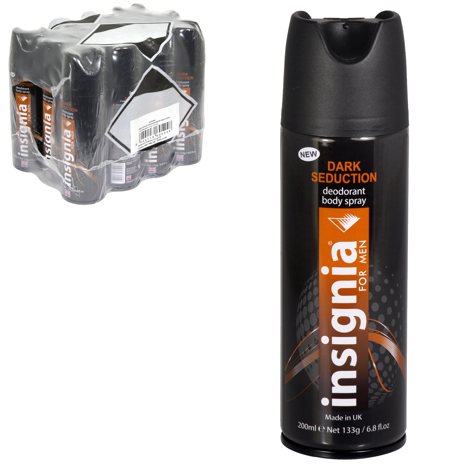 INSIGNIA BODY SPRAY 200ML DARK SEDUCTION X12