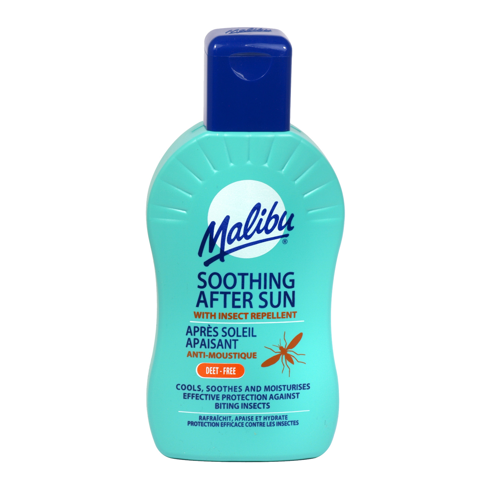 MALIBU AFTER SUN+INSECT REPELL 200ML X6