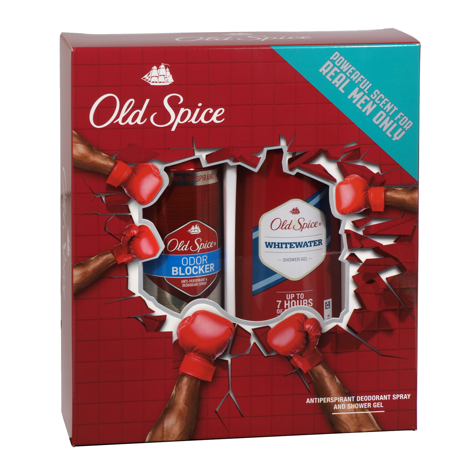 OLD SPICE BODY SPRAY+SHOWER GEL WHITEWATER