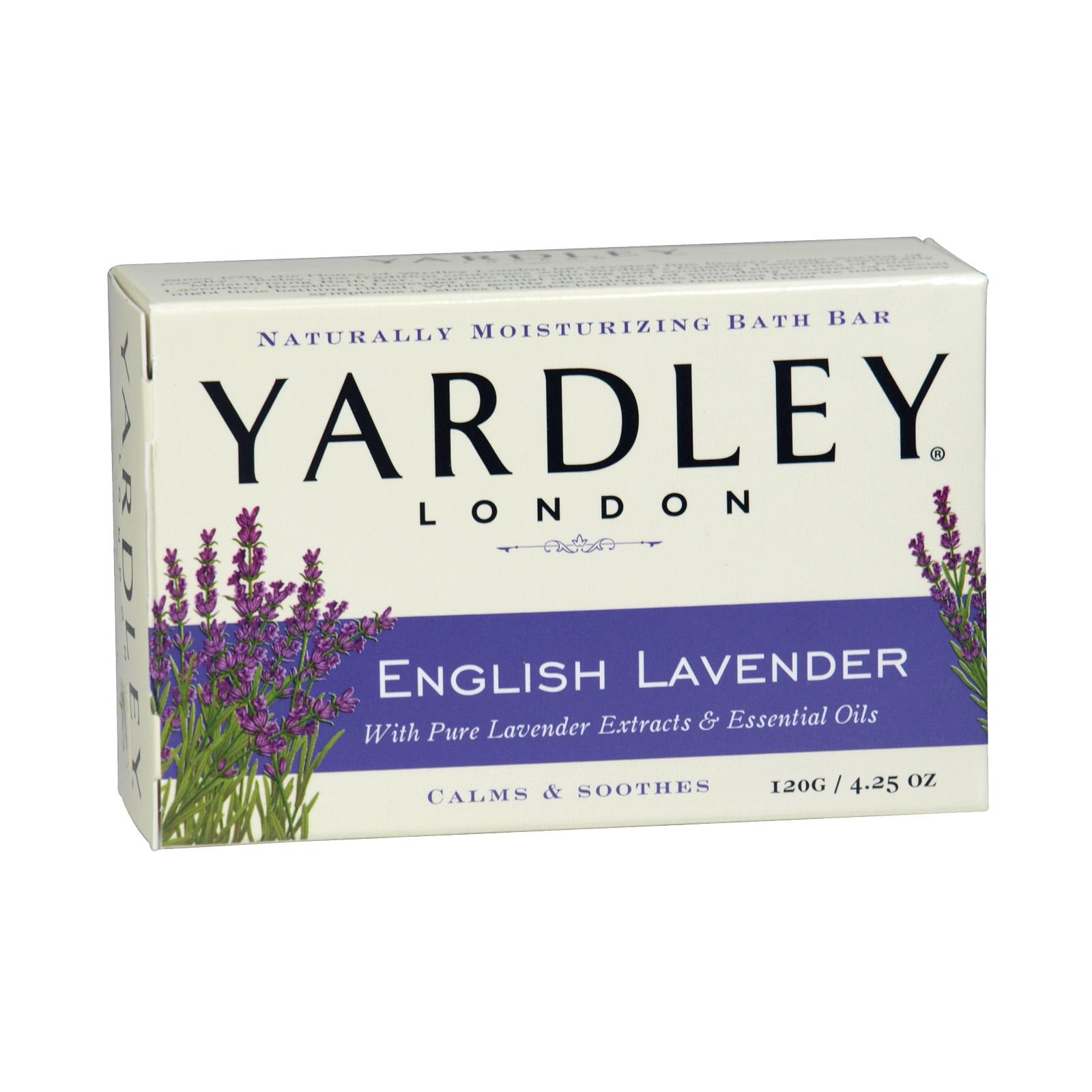 YARDLEY SOAP BOXED 120GM E/LAVENDER