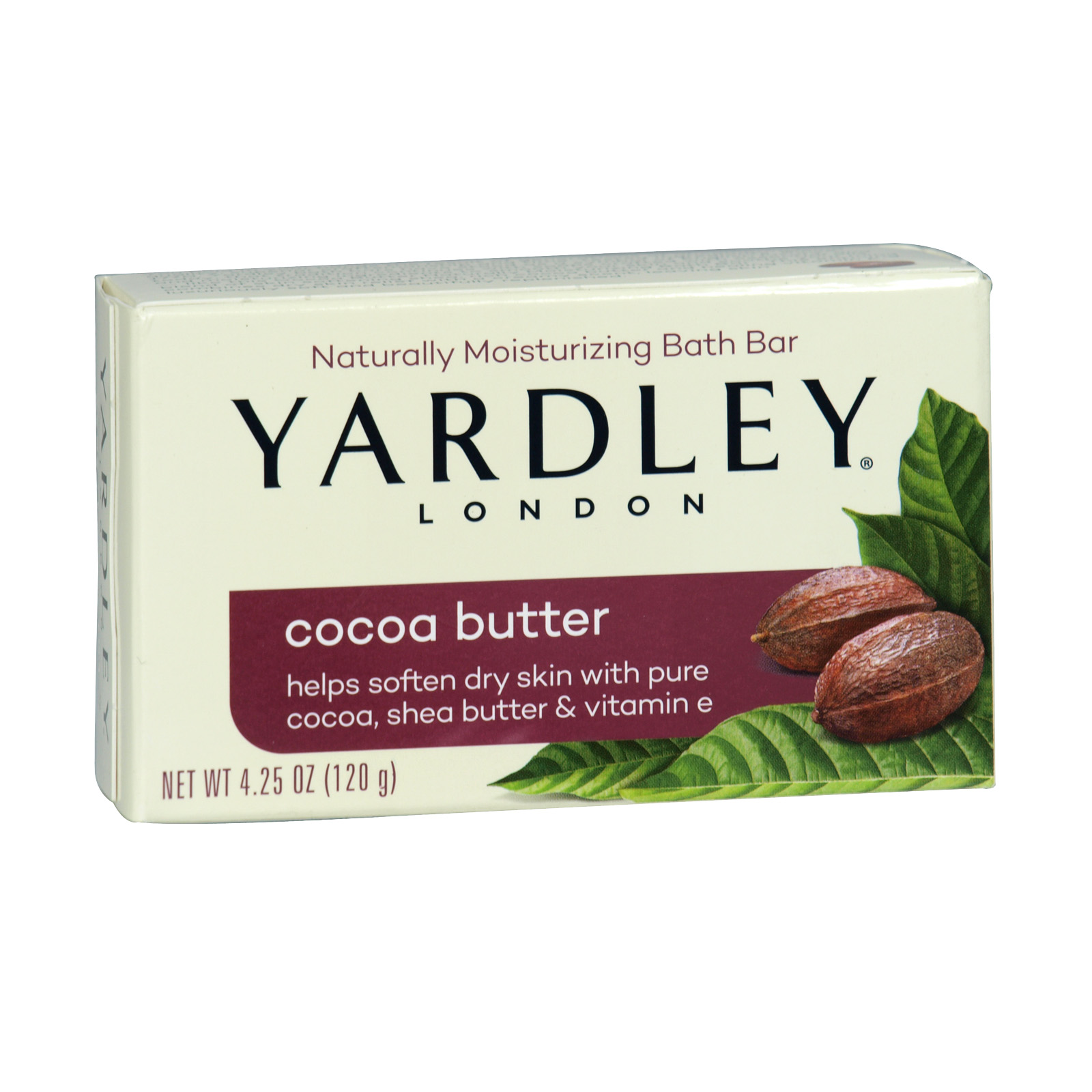 YARDLEY SOAP BOXED 120GM COCOA BUTTER