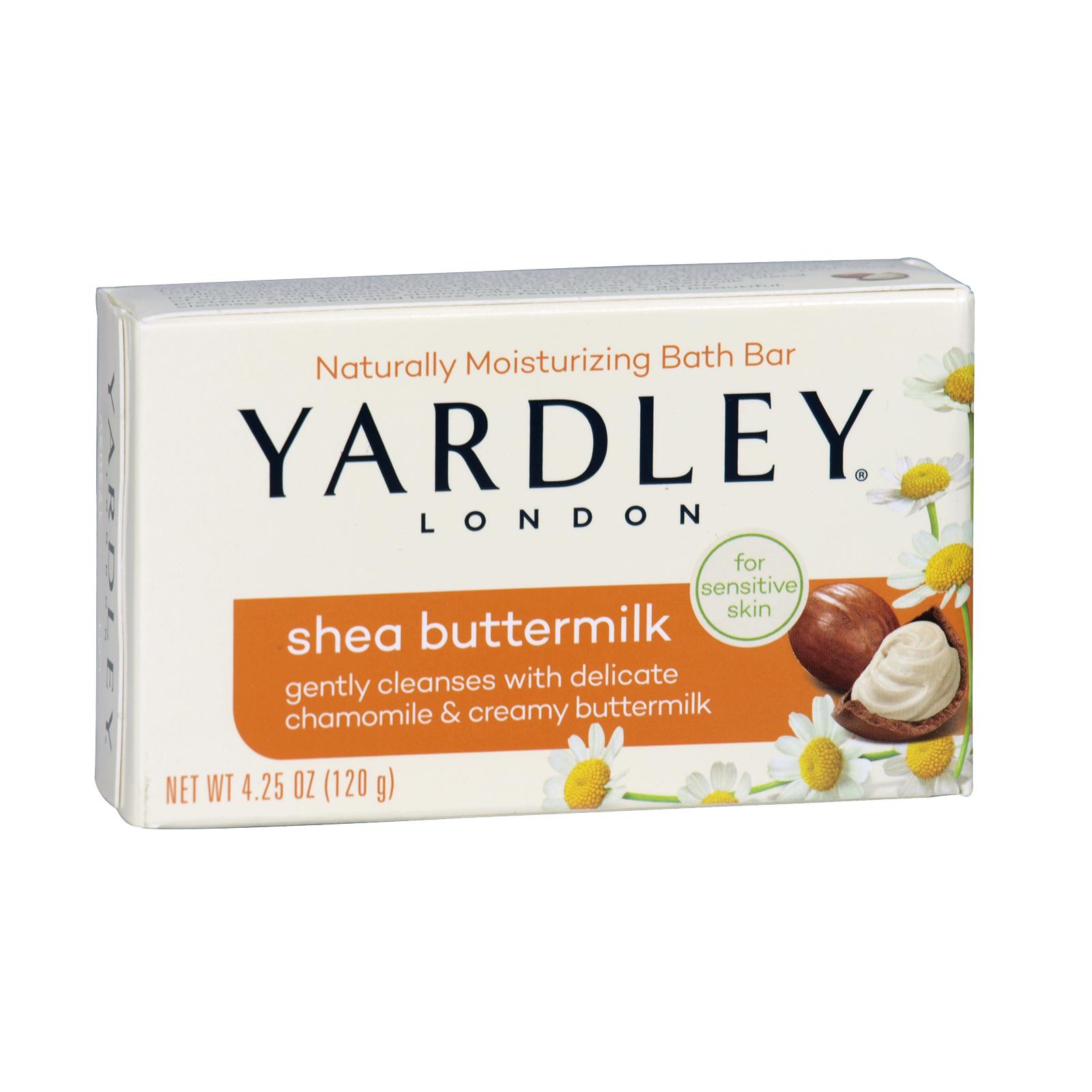 YARDLEY SOAP BOXED 120GM SHEA BUTTERMILK