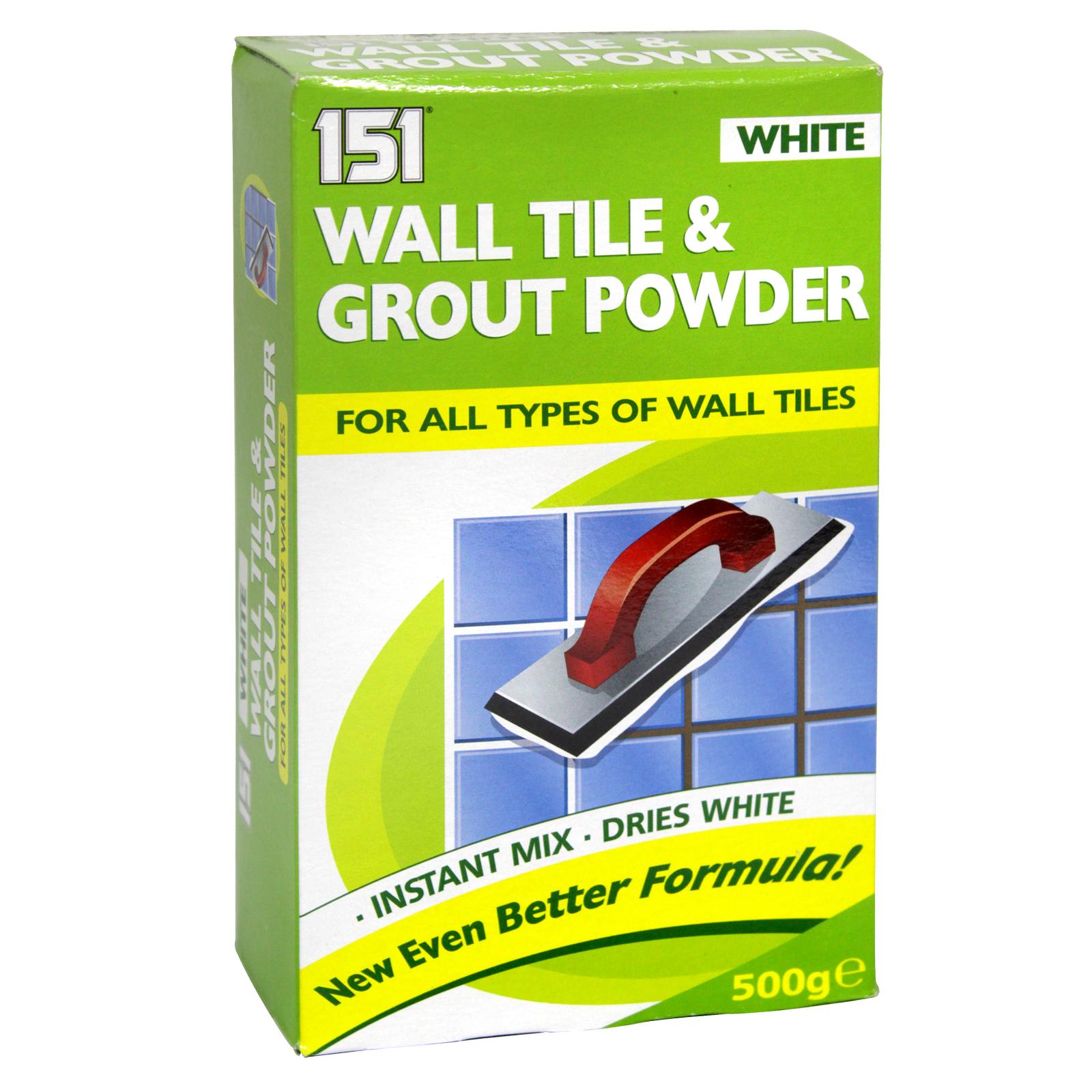 151 WALL TILE & GROUT POWDER WHITE 500G