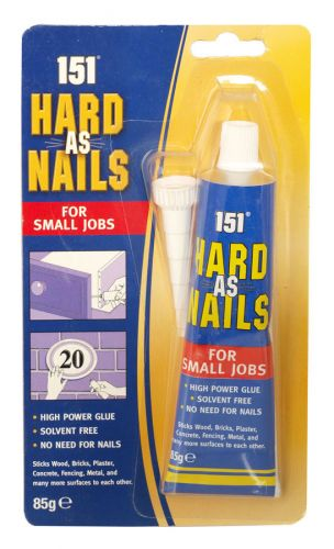 151 HARD AS NAILS 85GM GLUE X12