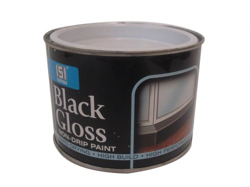 151 PAINT 180ML NON-DRIP BLACK GLOSS X12