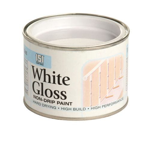 151 PAINT 180ML NON-DRIP GLOSS WHITE X12