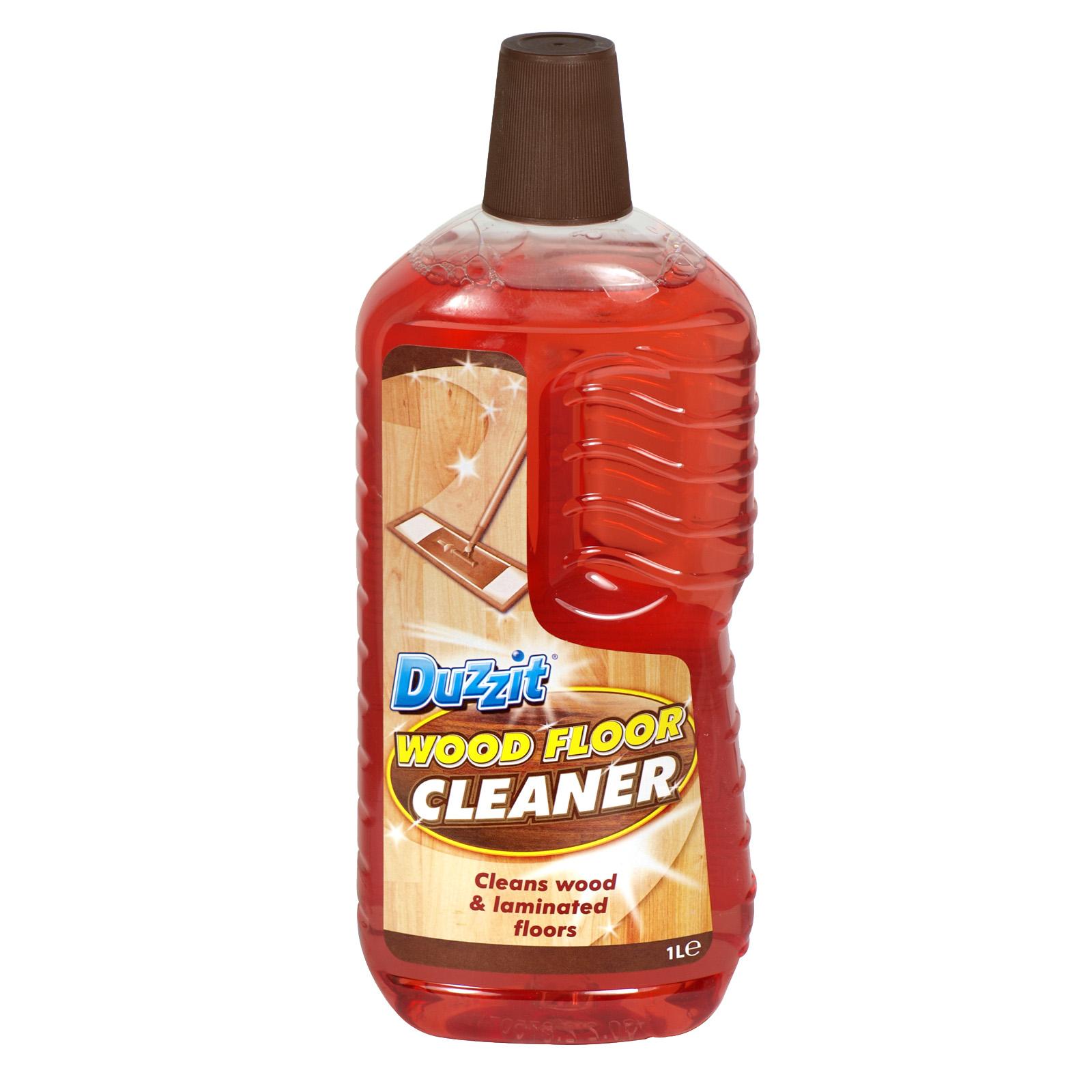 DUZZIT WOOD FLOOR CLEANER 1L X12