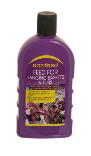 EAZIFEED FEED FOR HANGING BASKET+TUB 500ML X12