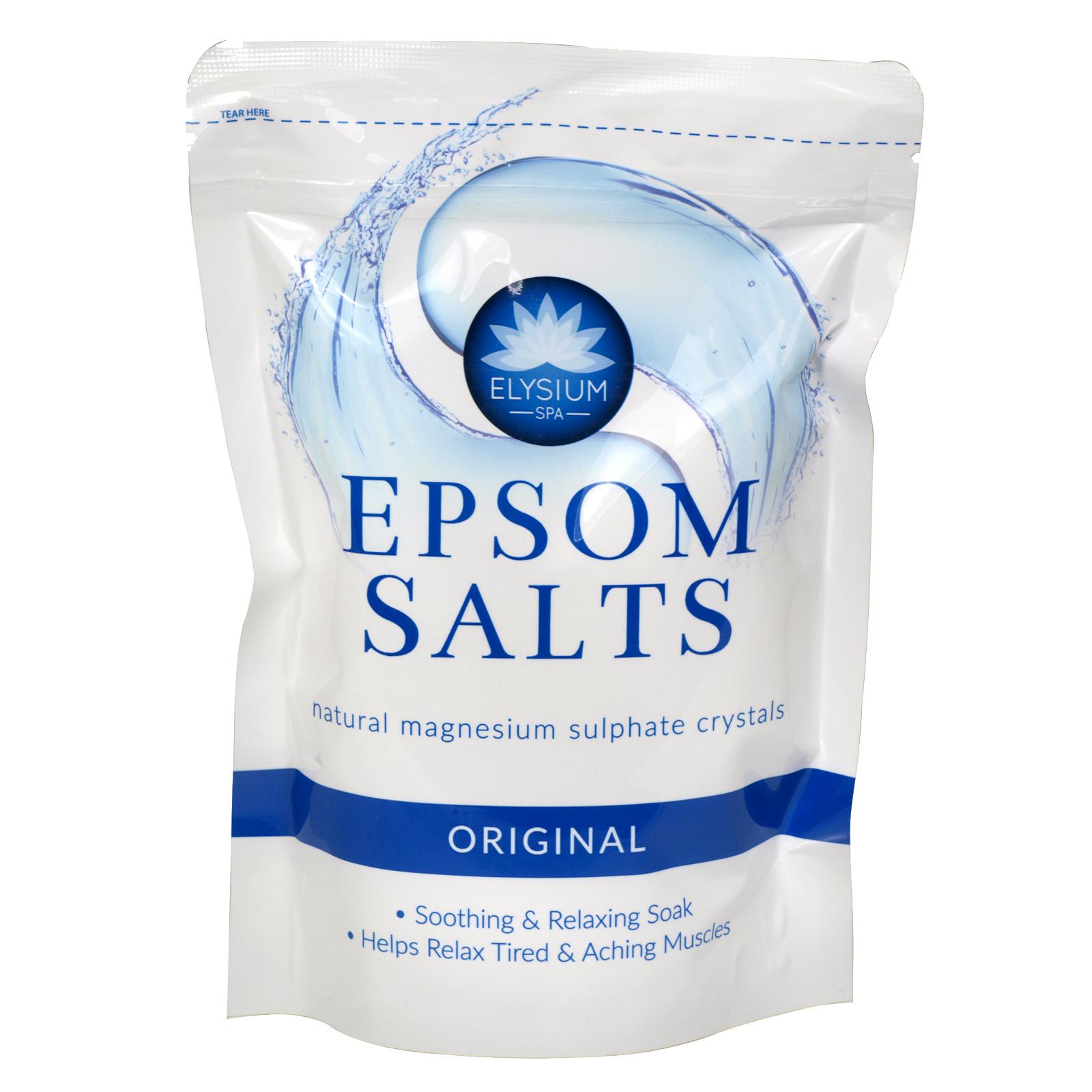 ELYSIUM EPSOM SALTS 450G ORIGINAL X12