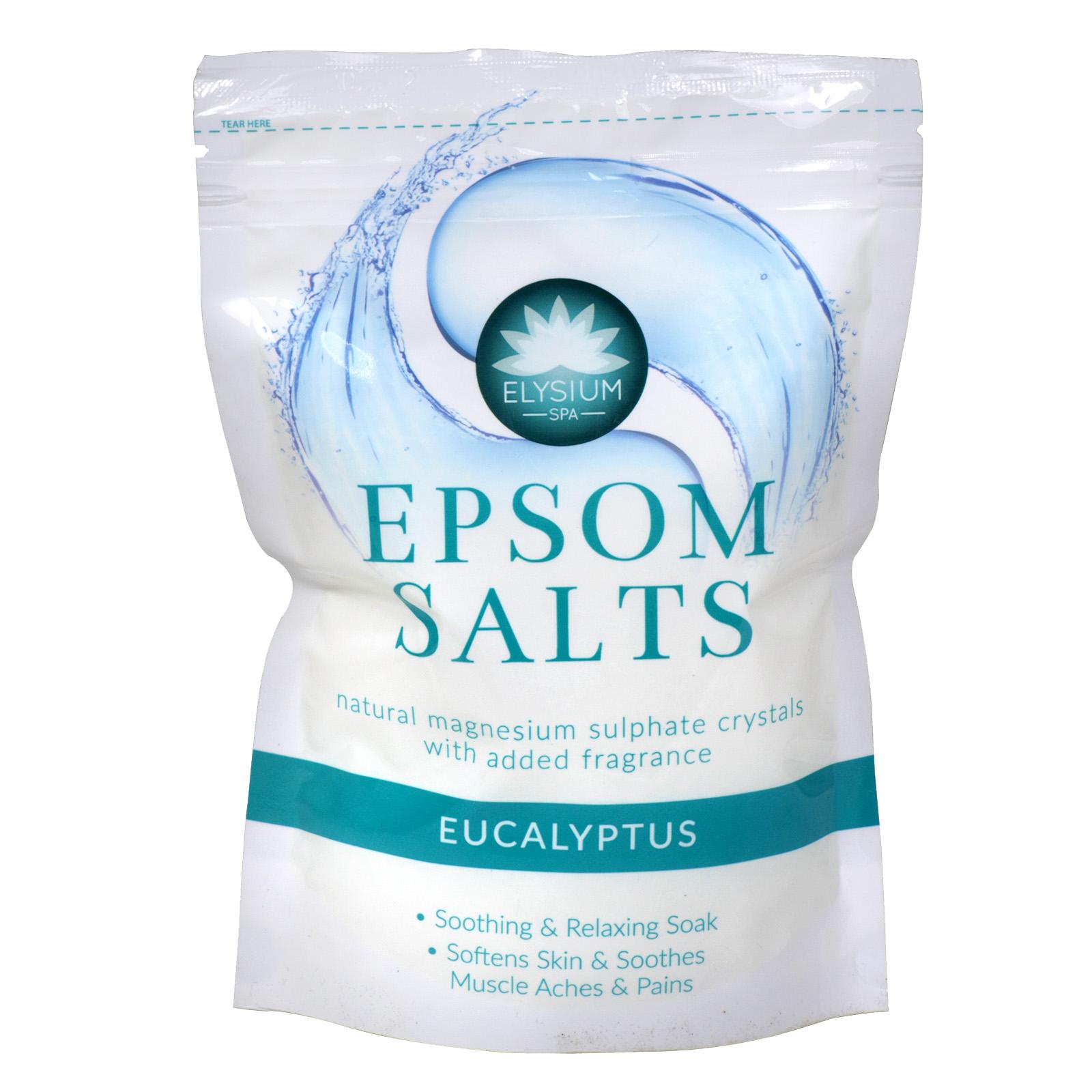 ELYSIUM EPSOM SALTS 450G EUCALYPTUS X12