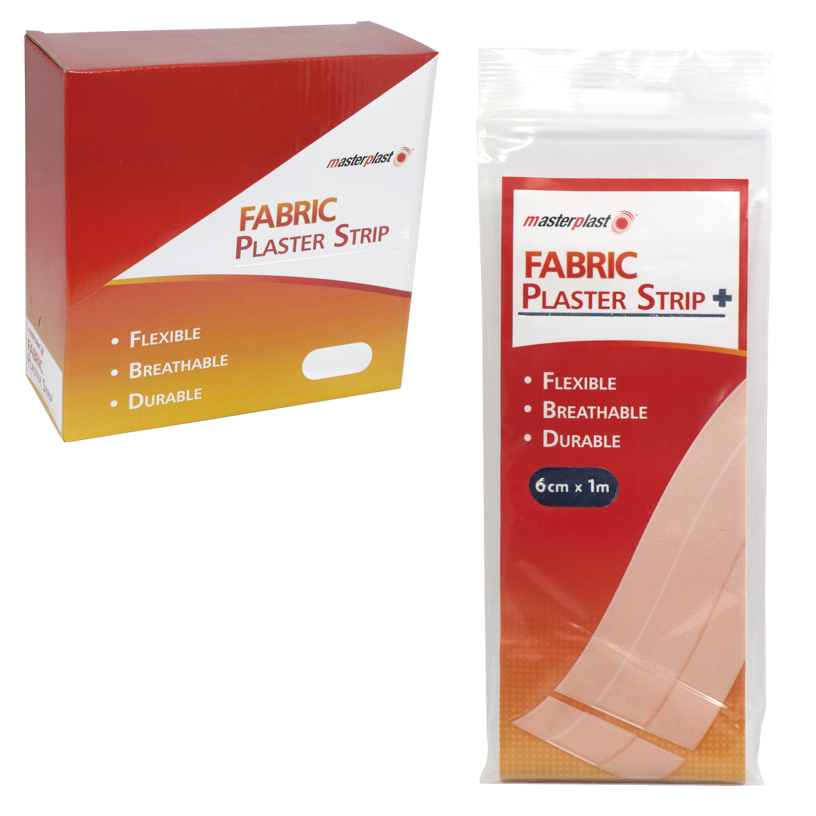 MASTER PLASTER FABRIC STRIP 6CMX1M X25