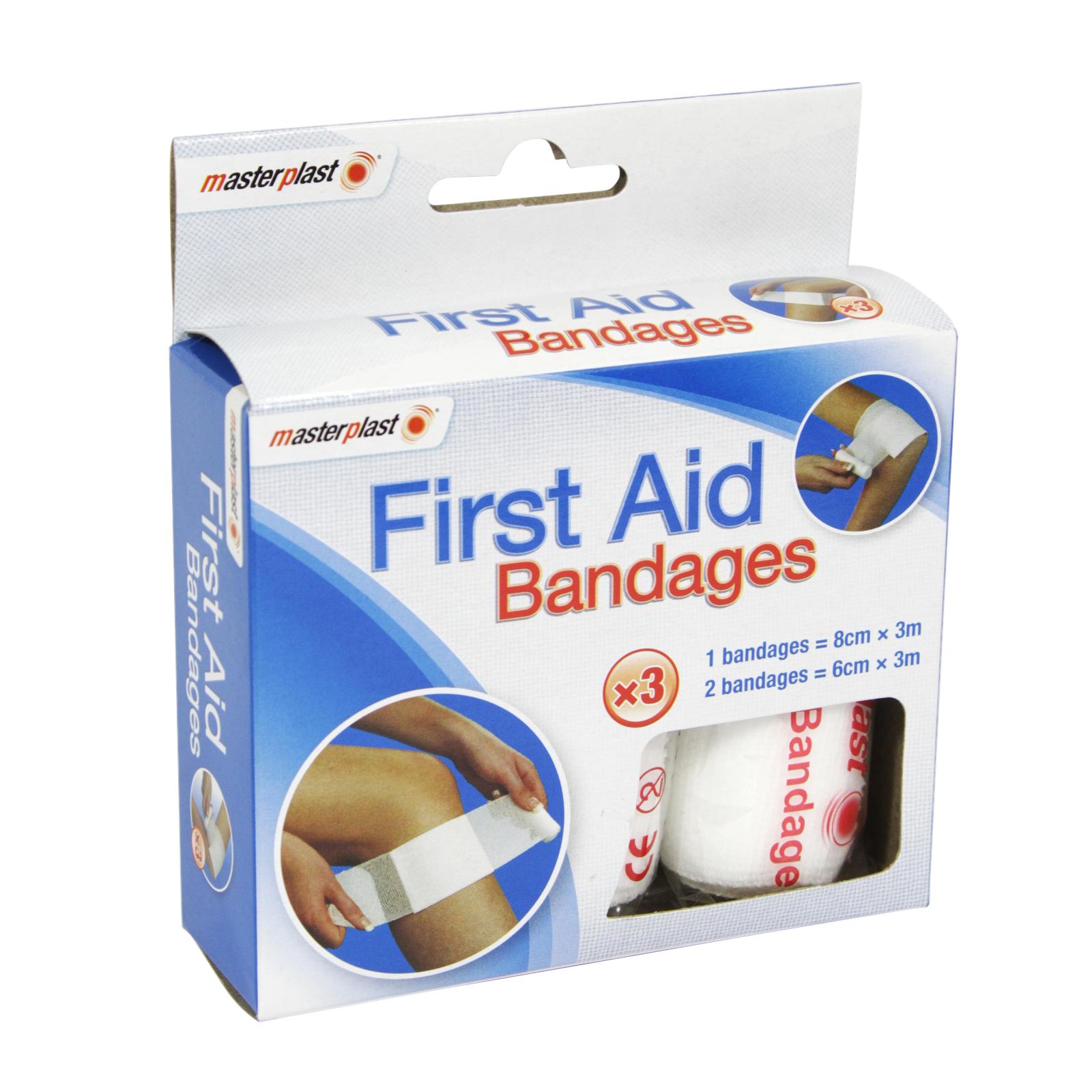 MASTER PLASTER 4PK 1ST AID BANDAGES