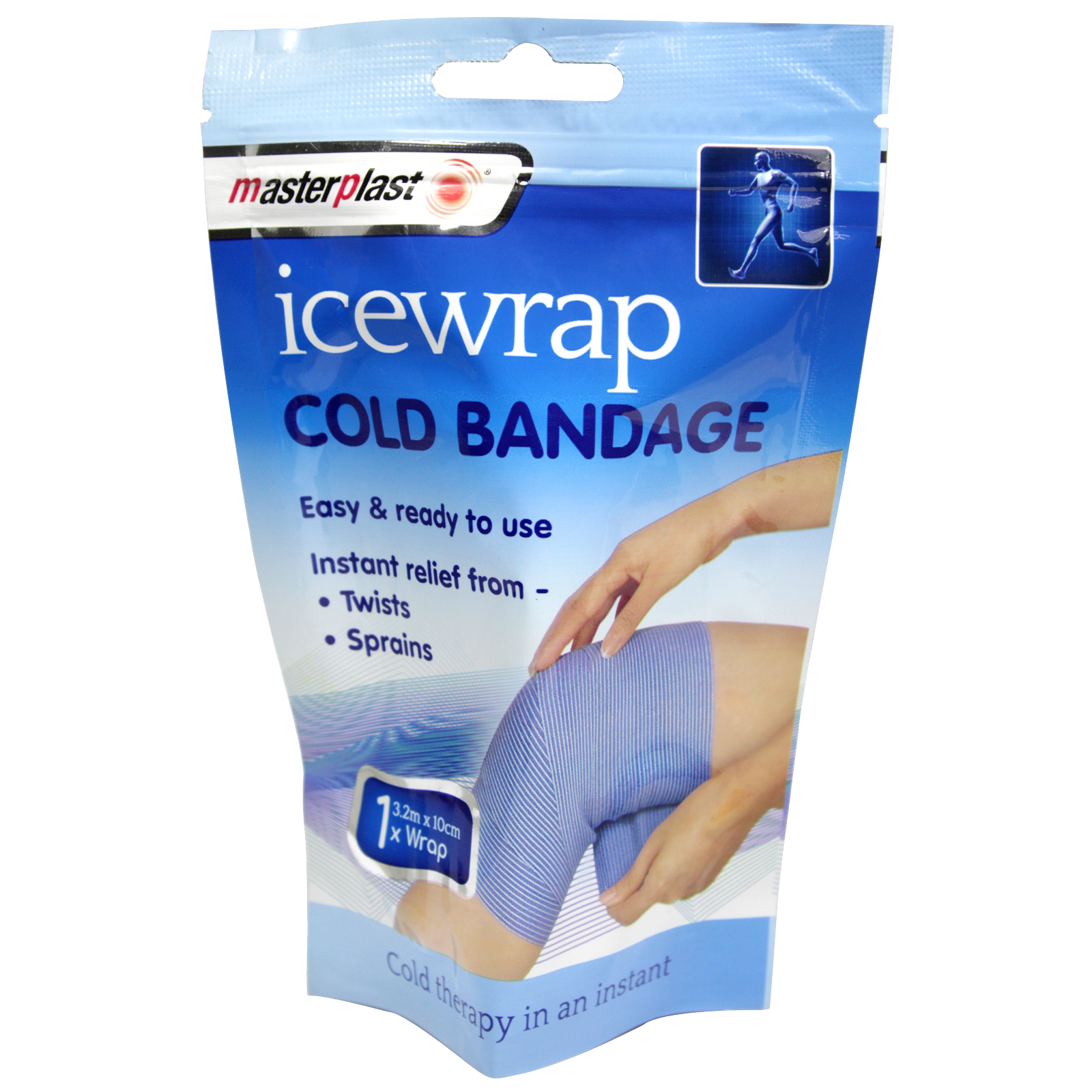 MASTERPLAST ICE WRAP COLD BANDAGE