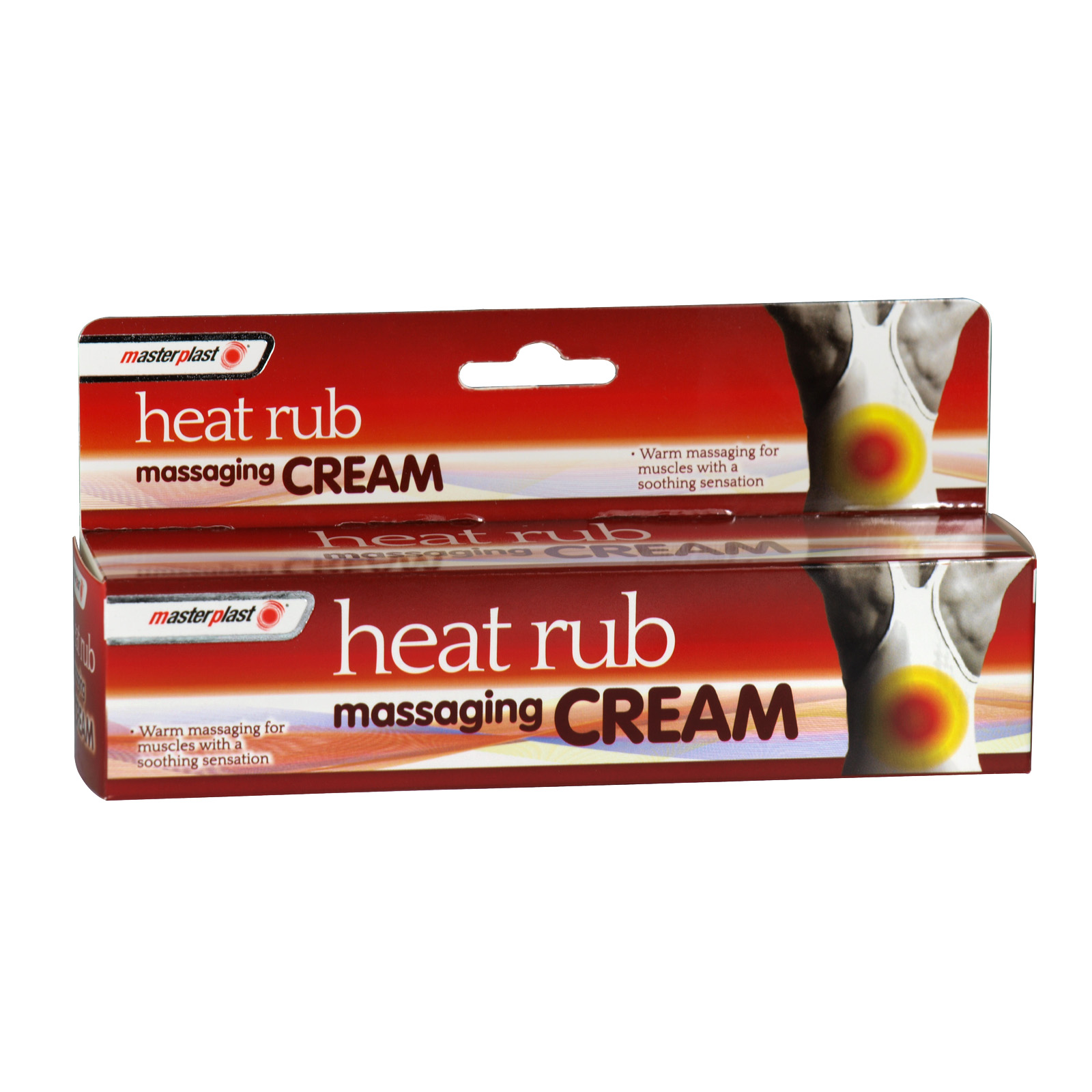 MASTERPLAST HEAT RUB 70GM