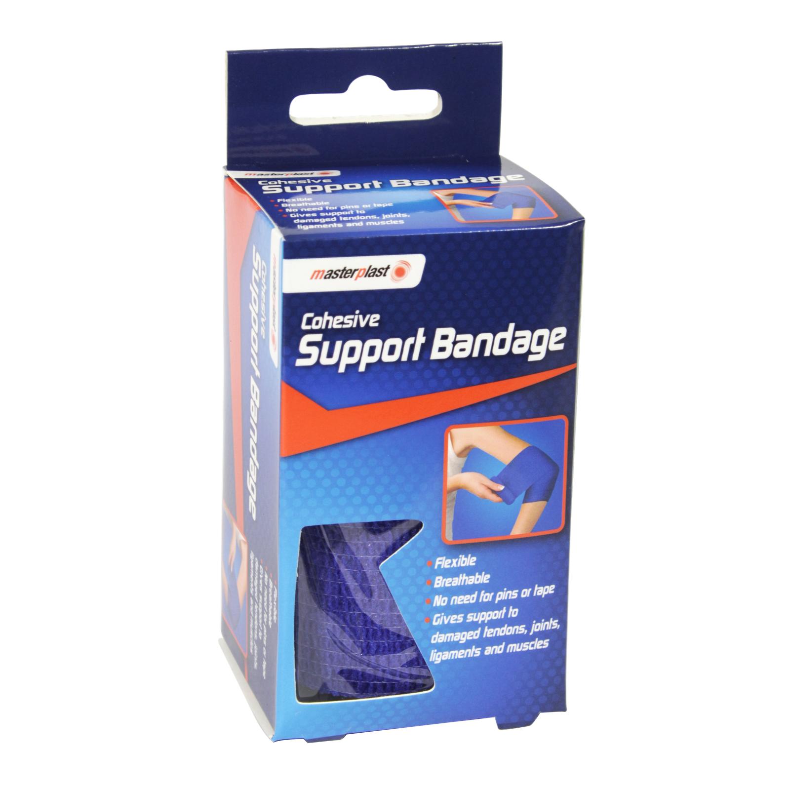 MASTER PLASTER COHESIVE SUPP BANDAGE 7CM X 4YRDS
