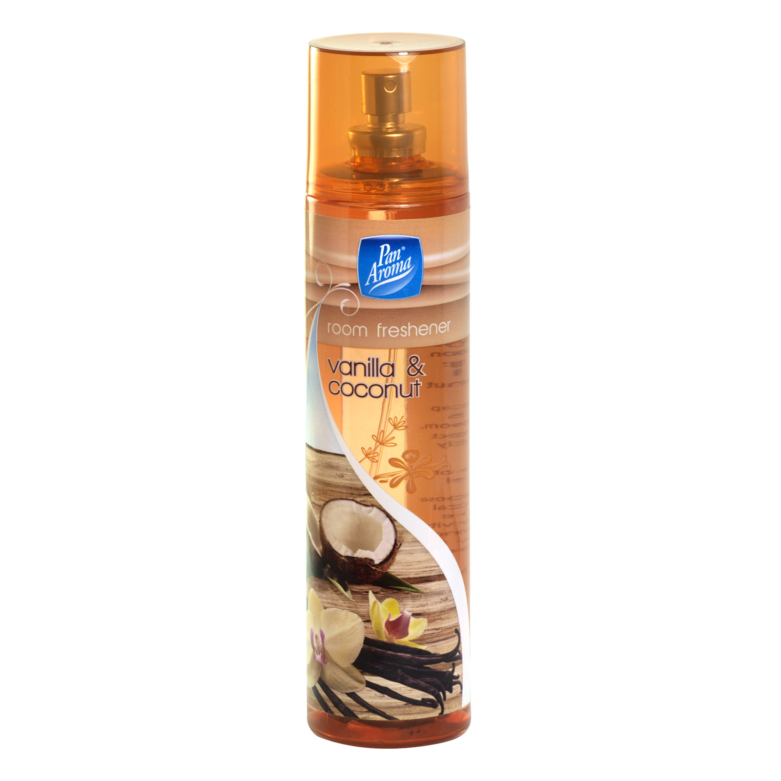 PAN AROMA ROOM SPRAY 200ML VANILLA+COCONUT