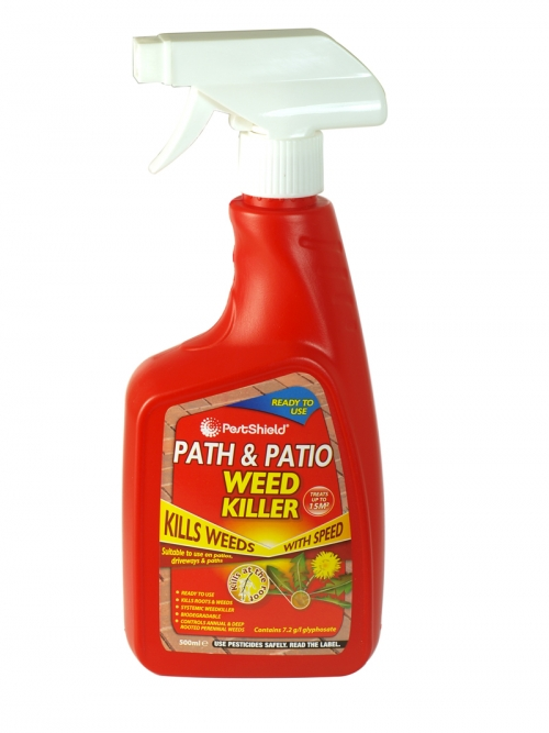 PESTSHIELD PATH+PATIO WEEDKILLER 500ML