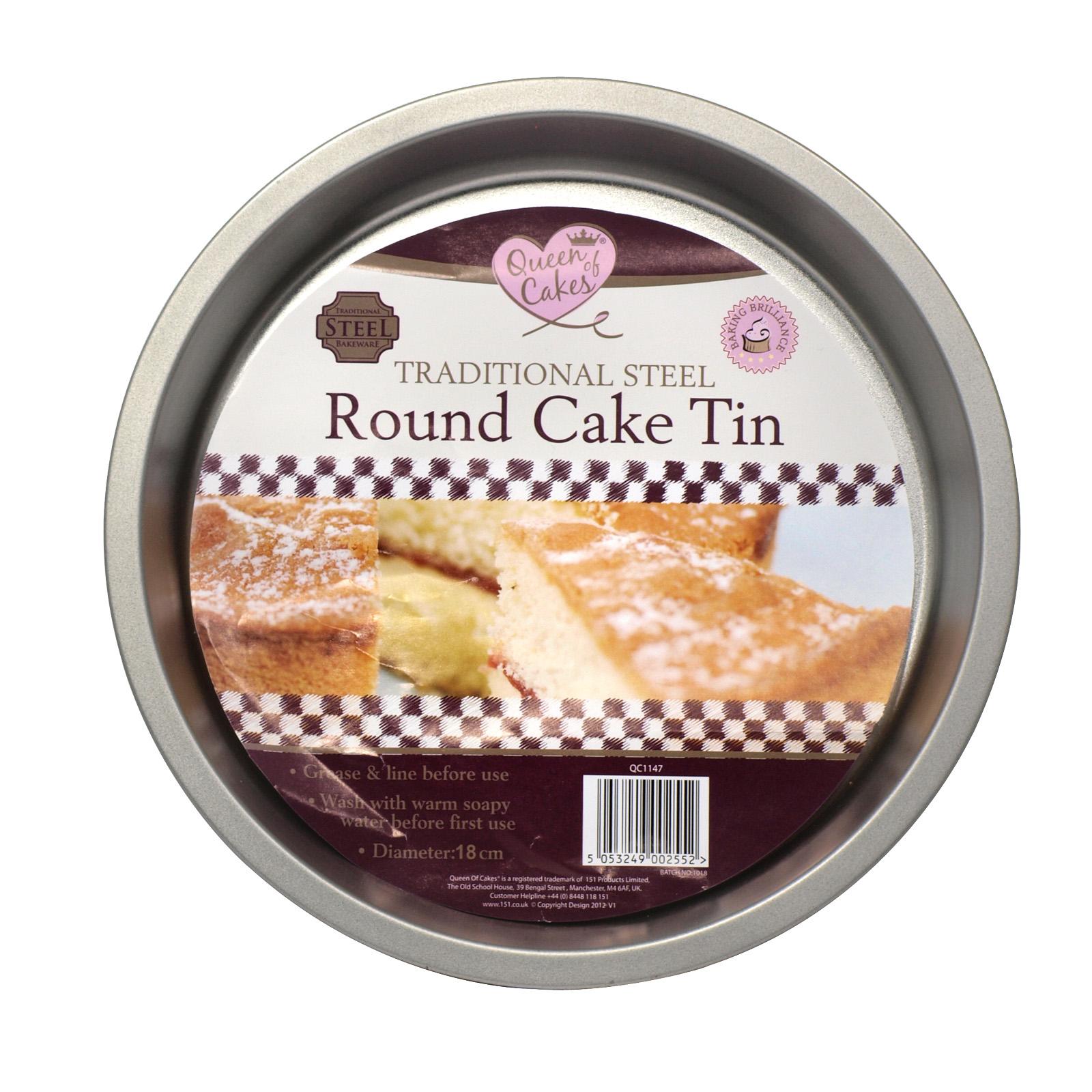 151 STEEL ROUND CAKE TIN