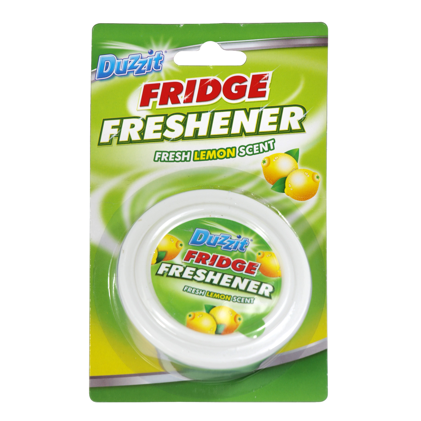 DUZZIT FRIDGE FRESHENER LEMON X12