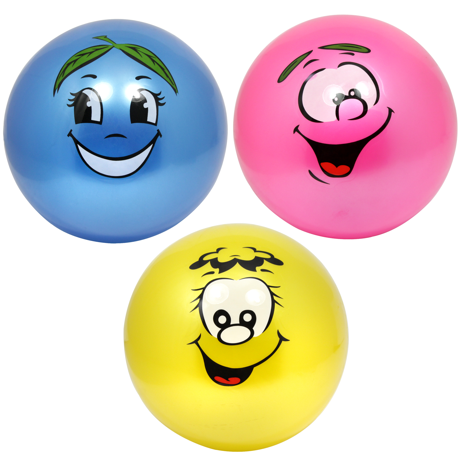 FOOTBALL - FRUIT SCENTED FACE 25CM NOT INFLATED