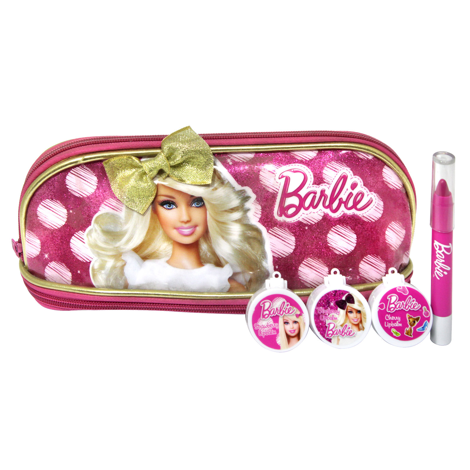 BARBIE 5PCS BEAUTY BAG