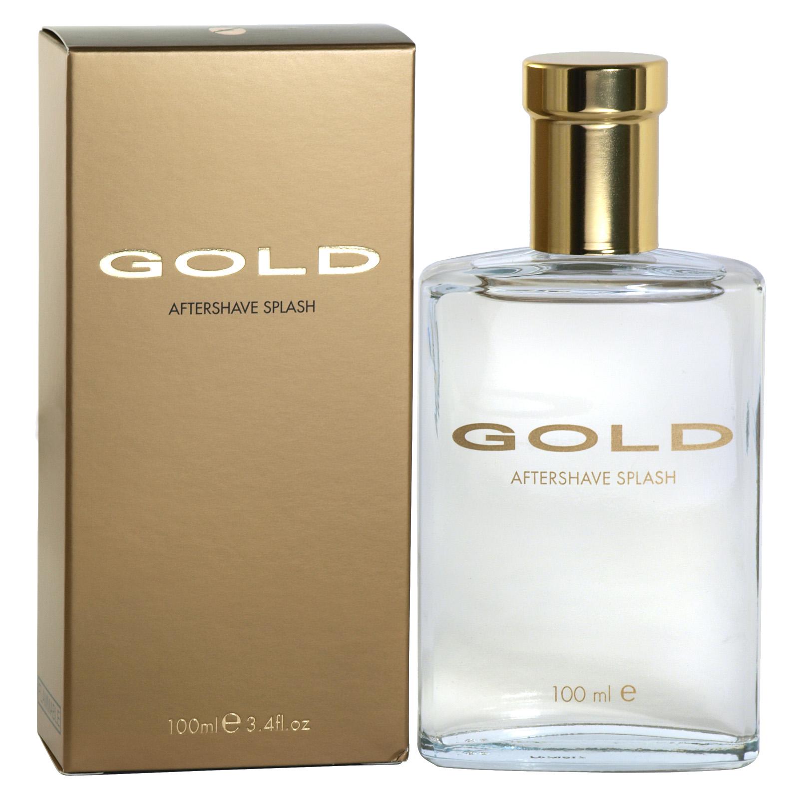 GOLD AFTERSHAVE SPLASH 100ML X6