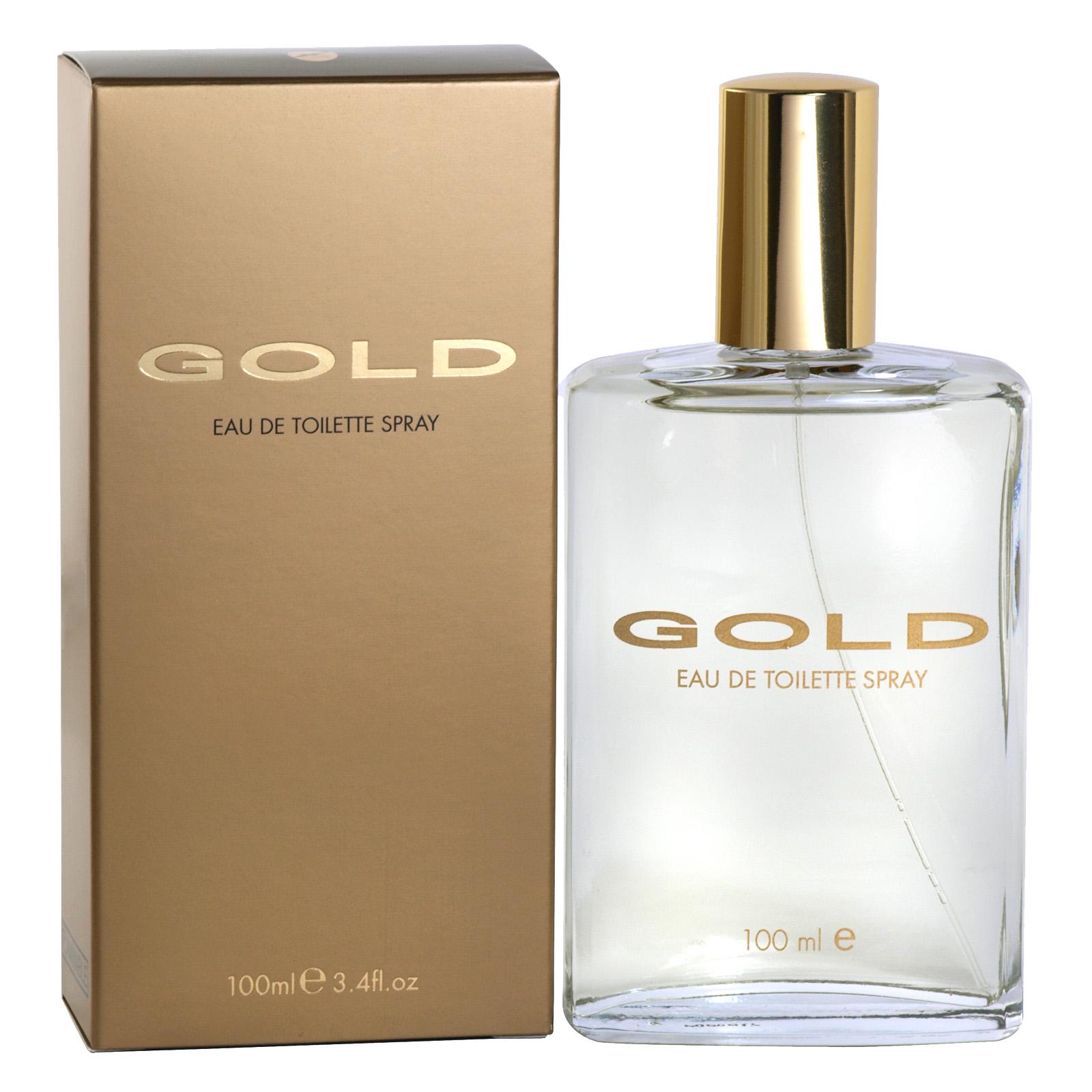 GOLD EDT SPRAY 100ML